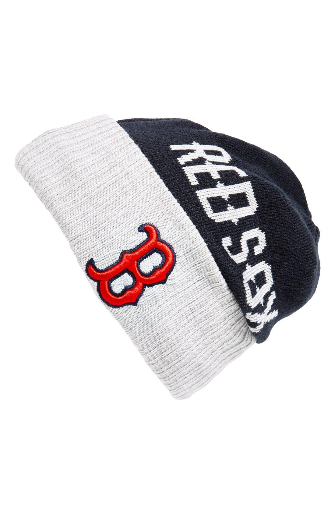 'Boston Red Sox' Beanie,                             Main thumbnail 1, color,                             410