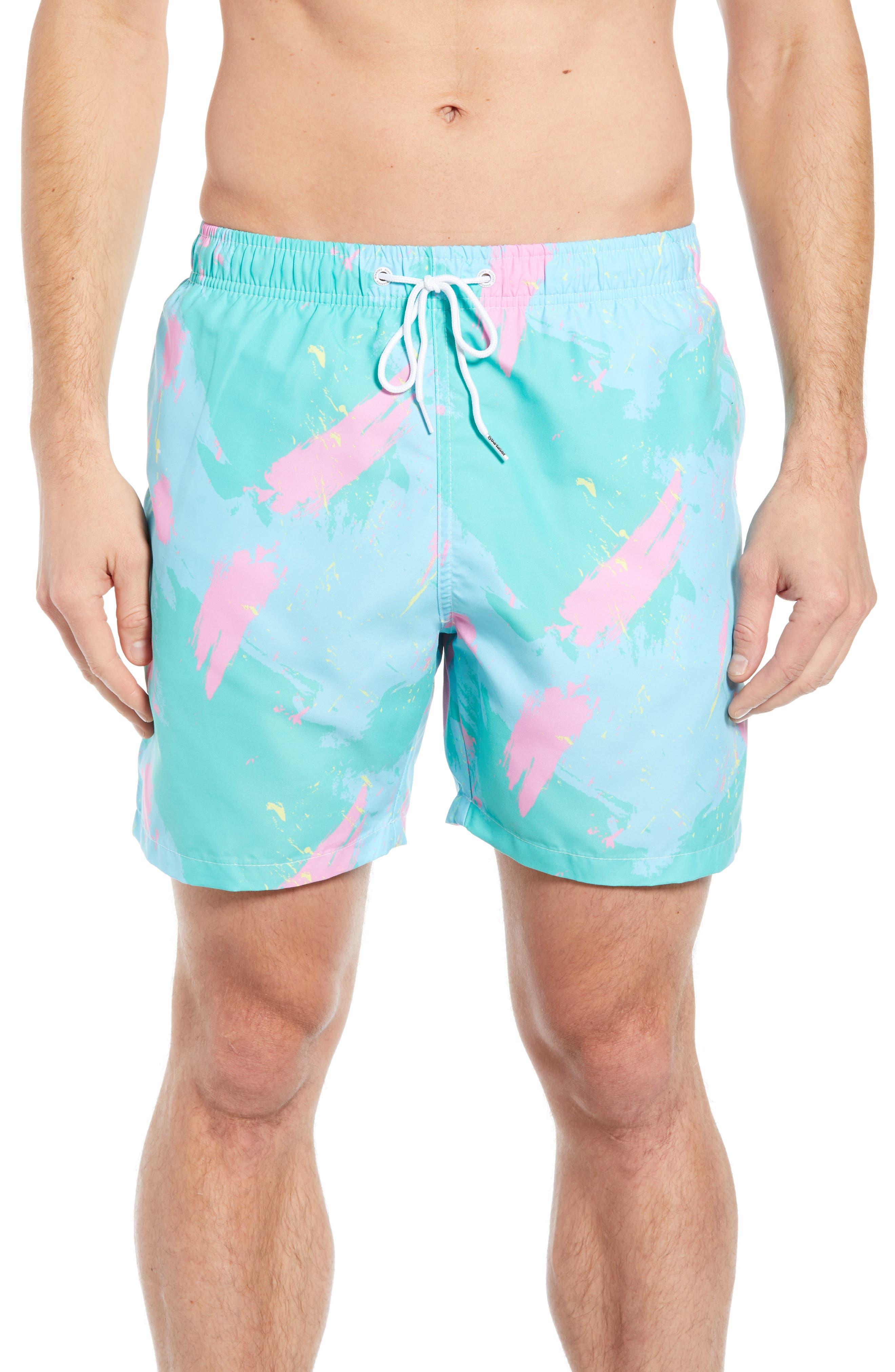 Malibu Swim Trunks,                         Main,                         color, 400