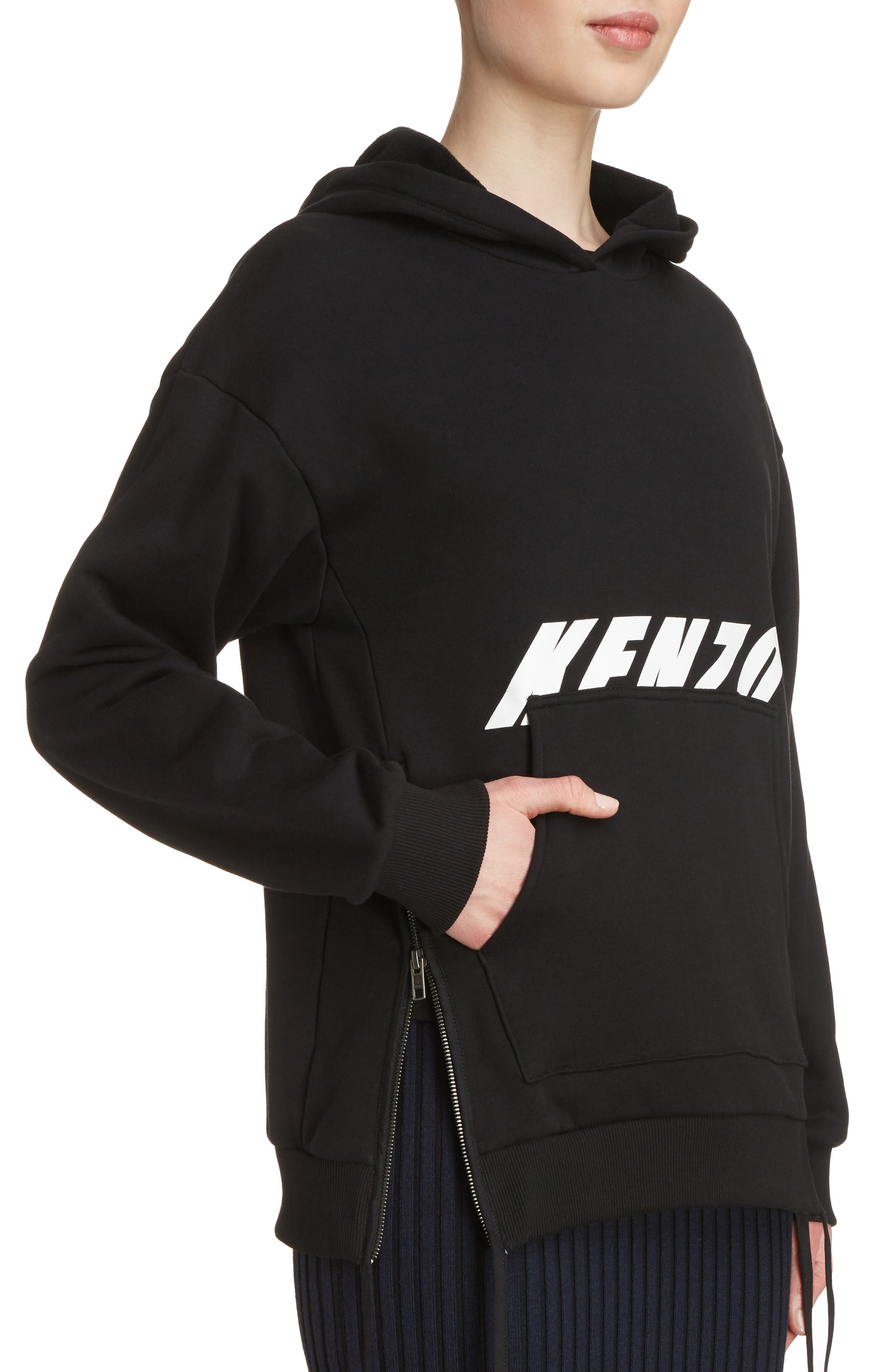 Graphic Hoodie,                             Alternate thumbnail 4, color,