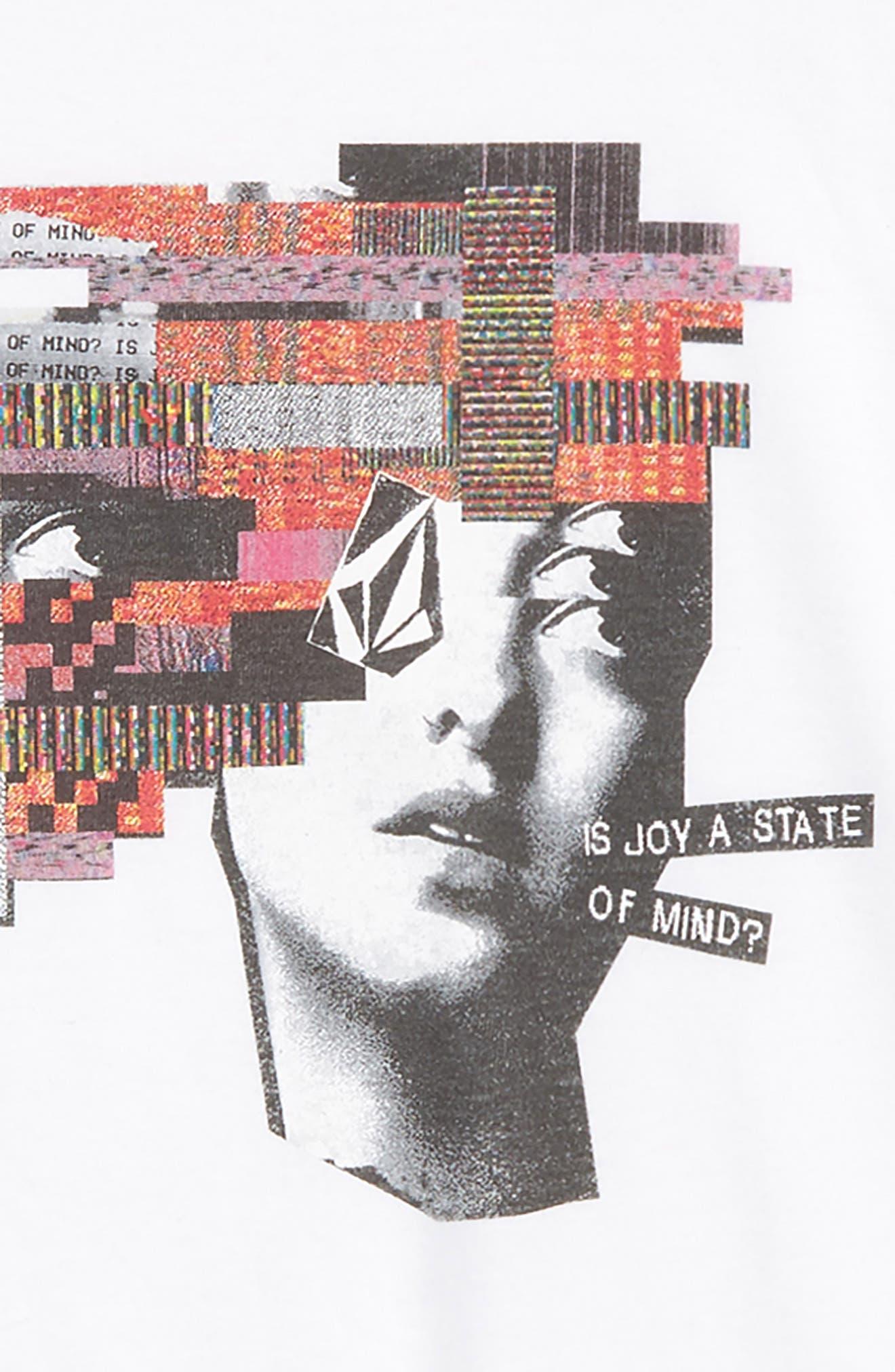 Noa Noisehead Graphic T-Shirt,                             Alternate thumbnail 3, color,                             WHITE