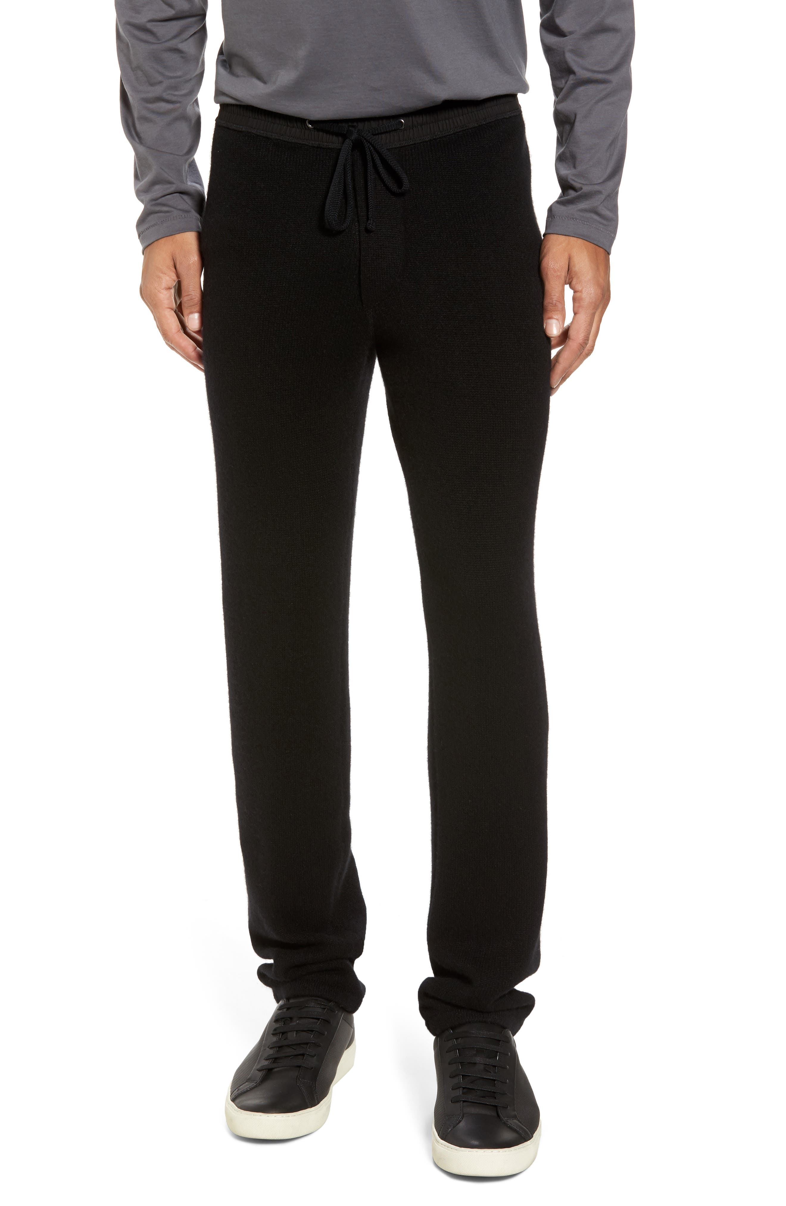 Cashmere Sweatpants,                             Main thumbnail 1, color,                             001