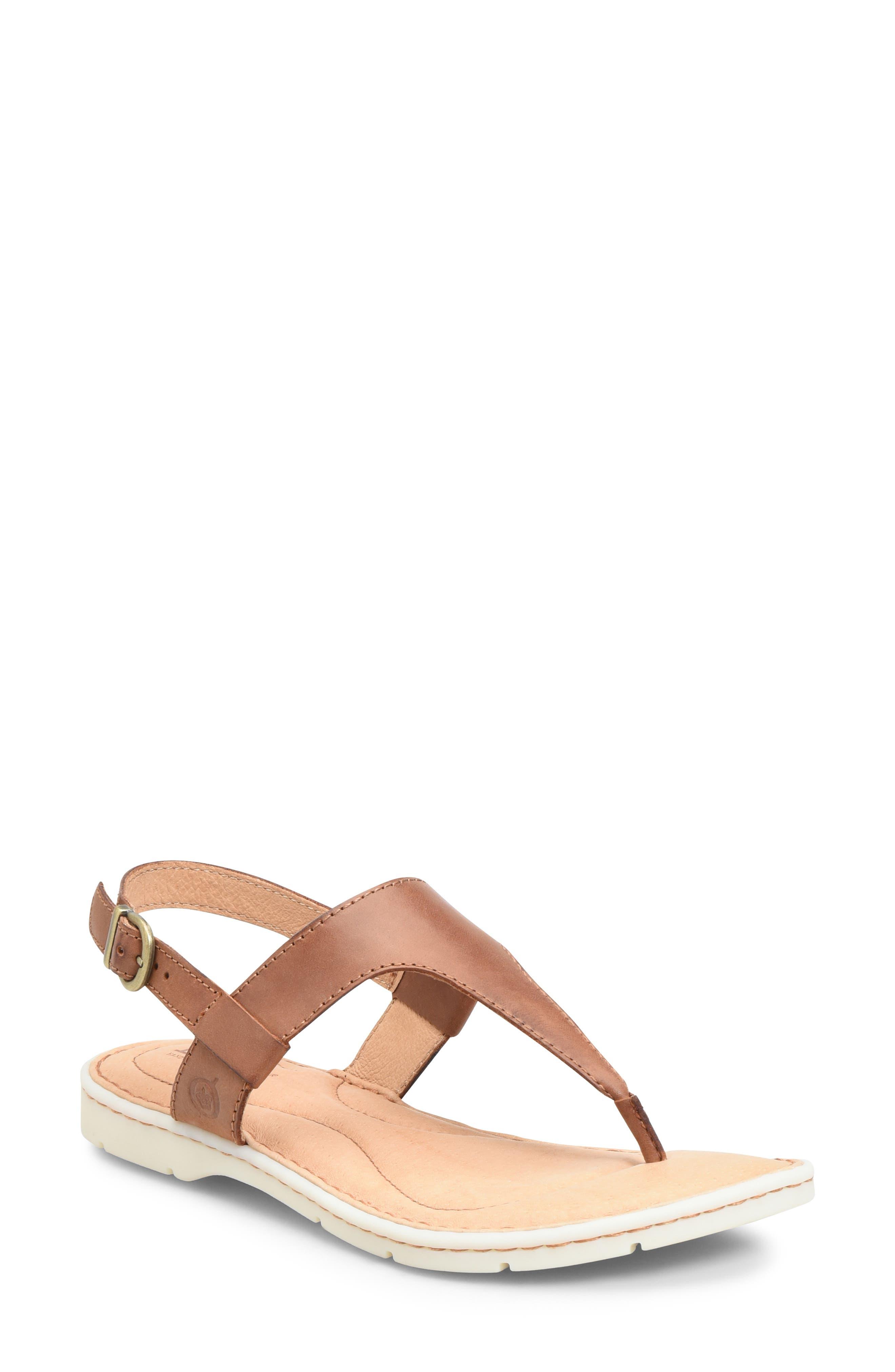 B?rn Taylor V-Strap Sandal, Brown