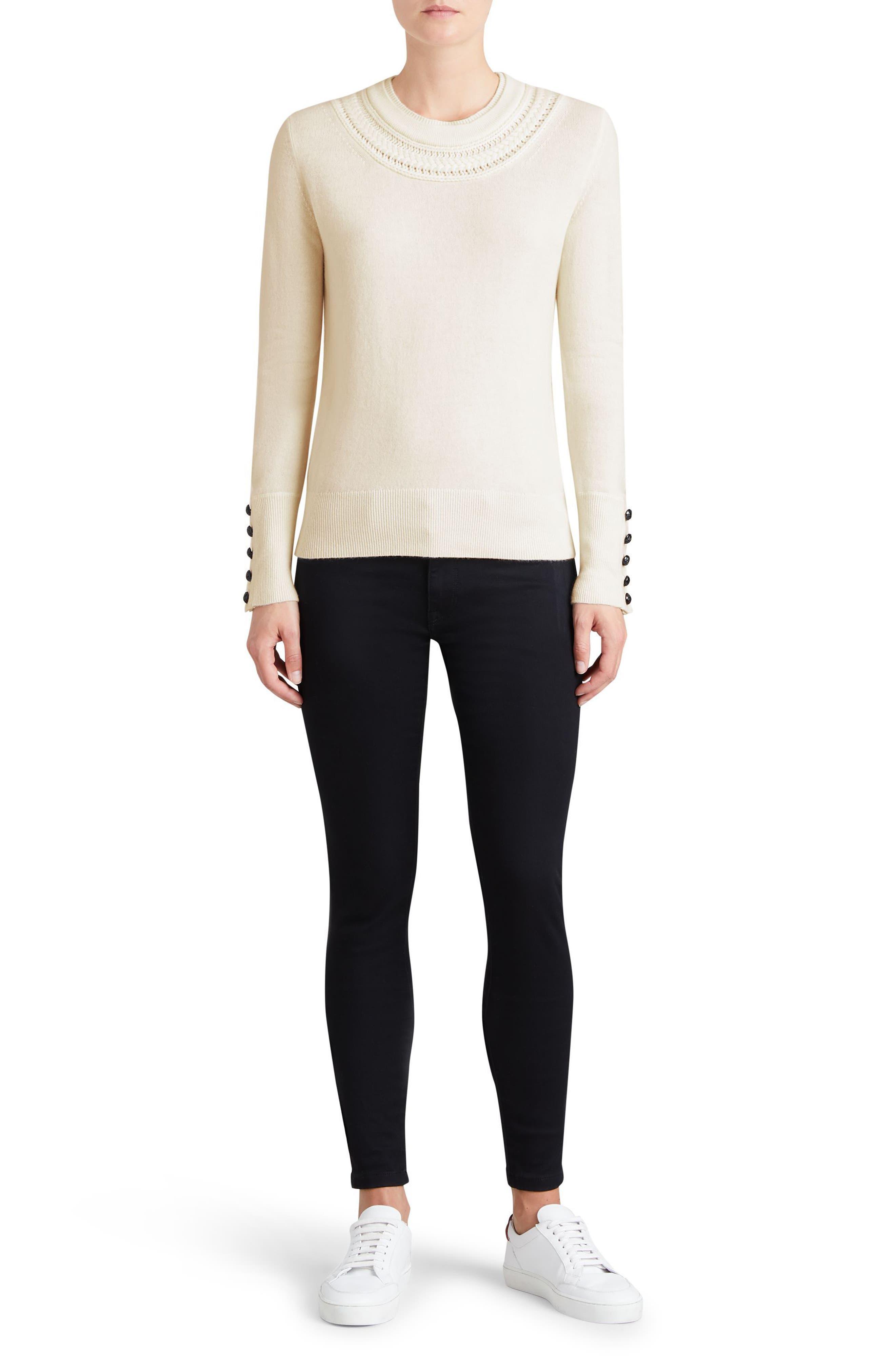 Carapelle Cashmere Sweater,                             Alternate thumbnail 14, color,