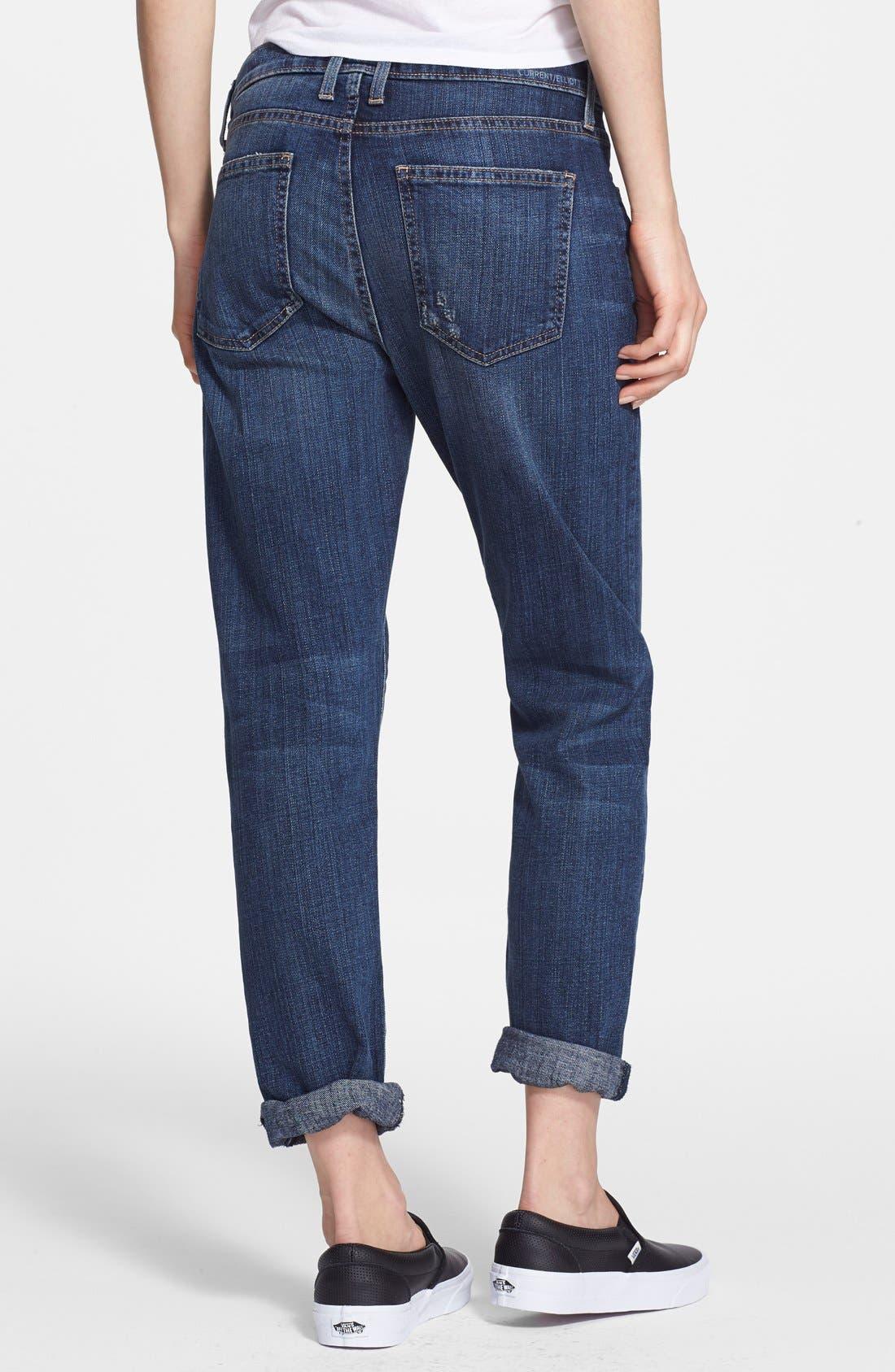 'The Fling' Boyfriend Jeans,                             Alternate thumbnail 3, color,                             465