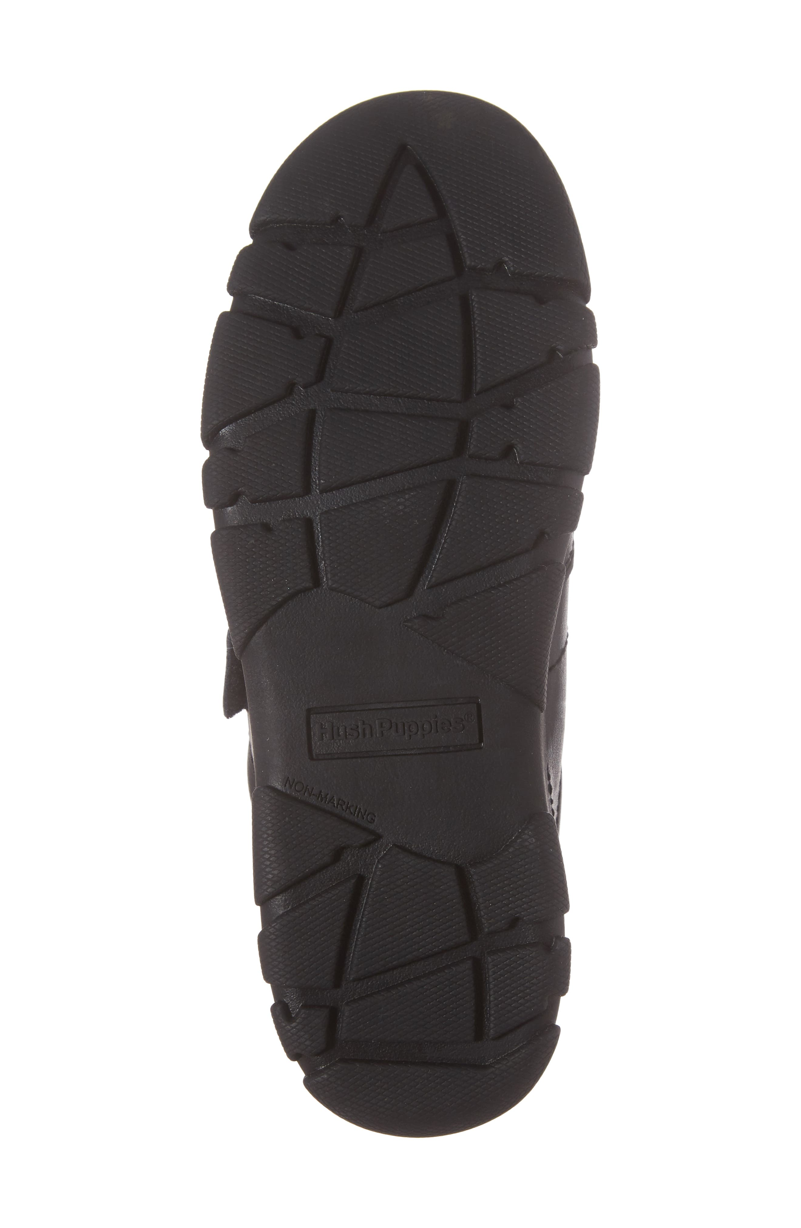 Jace Dress Sneaker,                             Alternate thumbnail 6, color,                             BLACK LEATHER