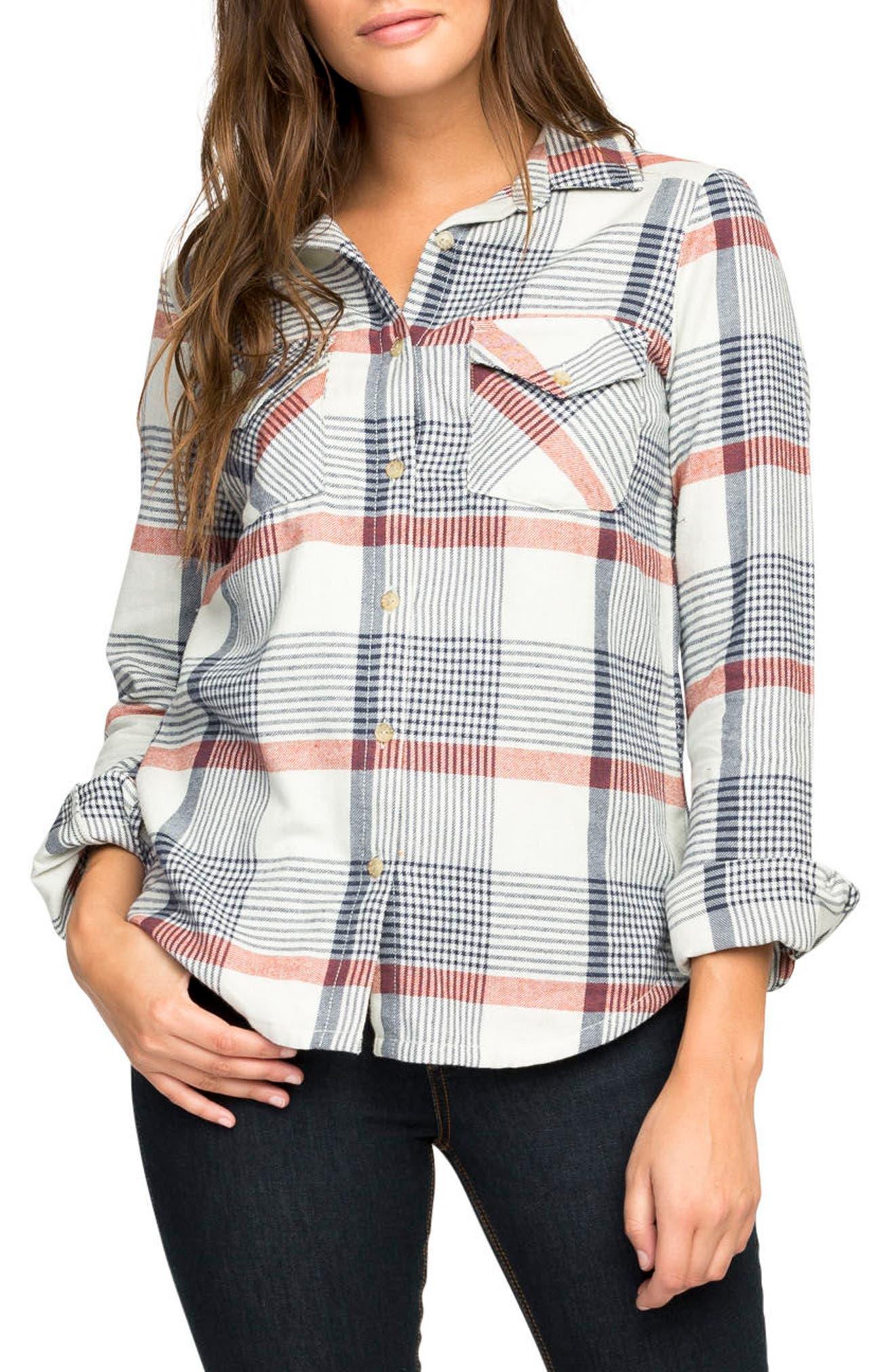 Plaid Flannel Shirt,                             Main thumbnail 2, color,