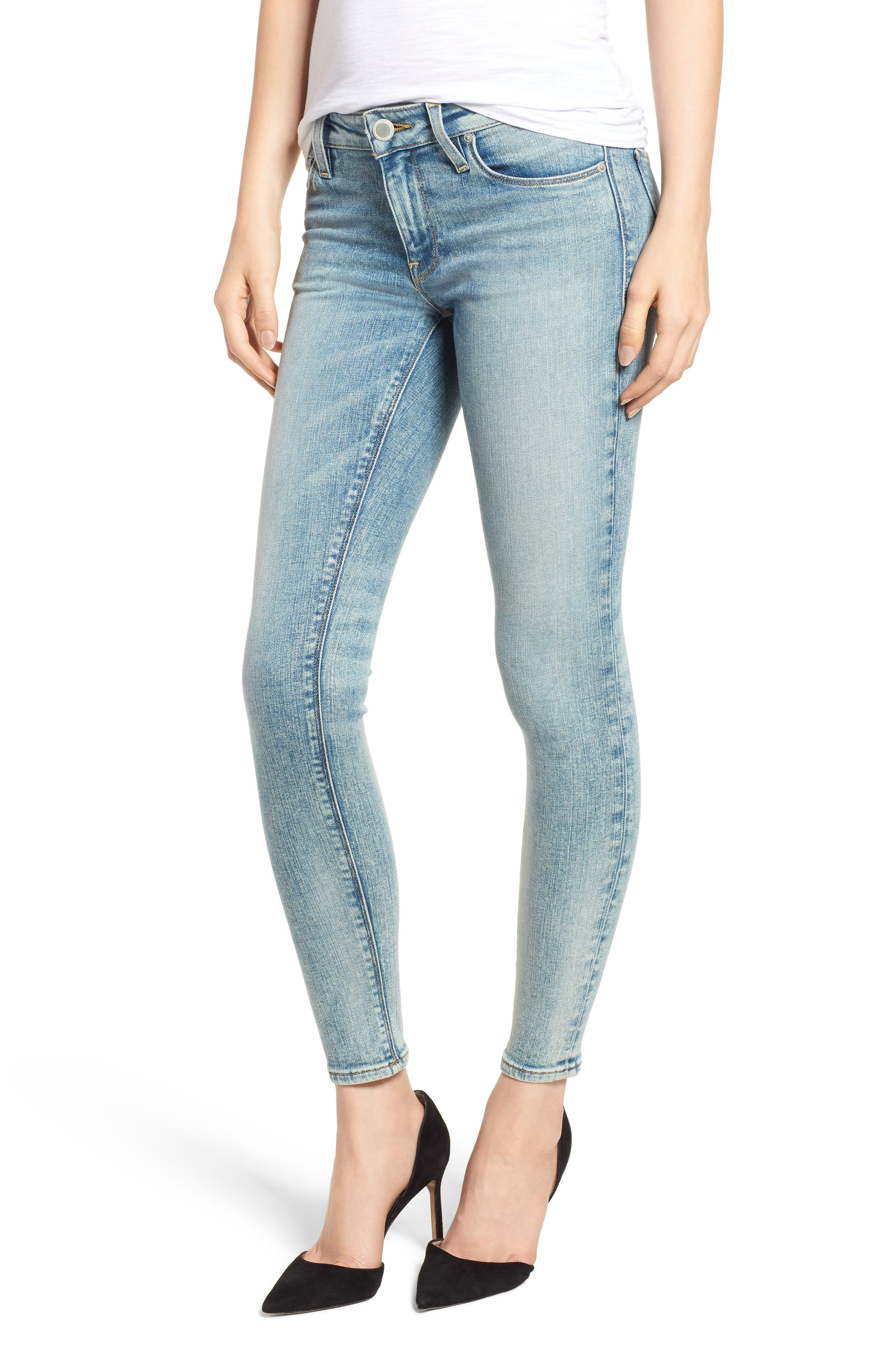 Krista Ankle Super Skinny Jeans,                             Main thumbnail 1, color,                             438