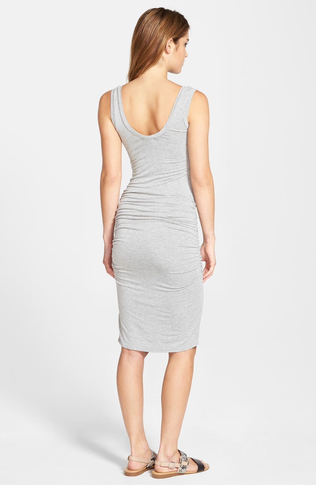 'Frankie' Ruched Tank Dress,                             Alternate thumbnail 11, color,