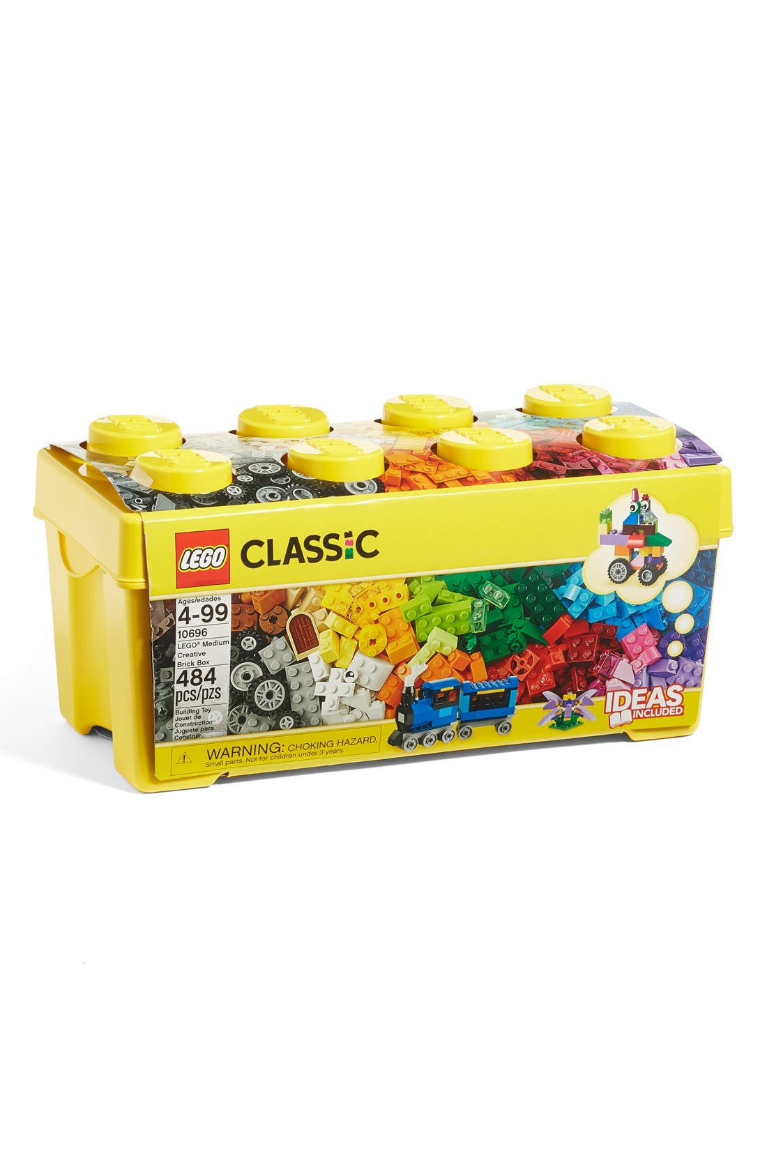 Classic Medium Creative Brick Box - 10696,                             Alternate thumbnail 4, color,                             MULTI