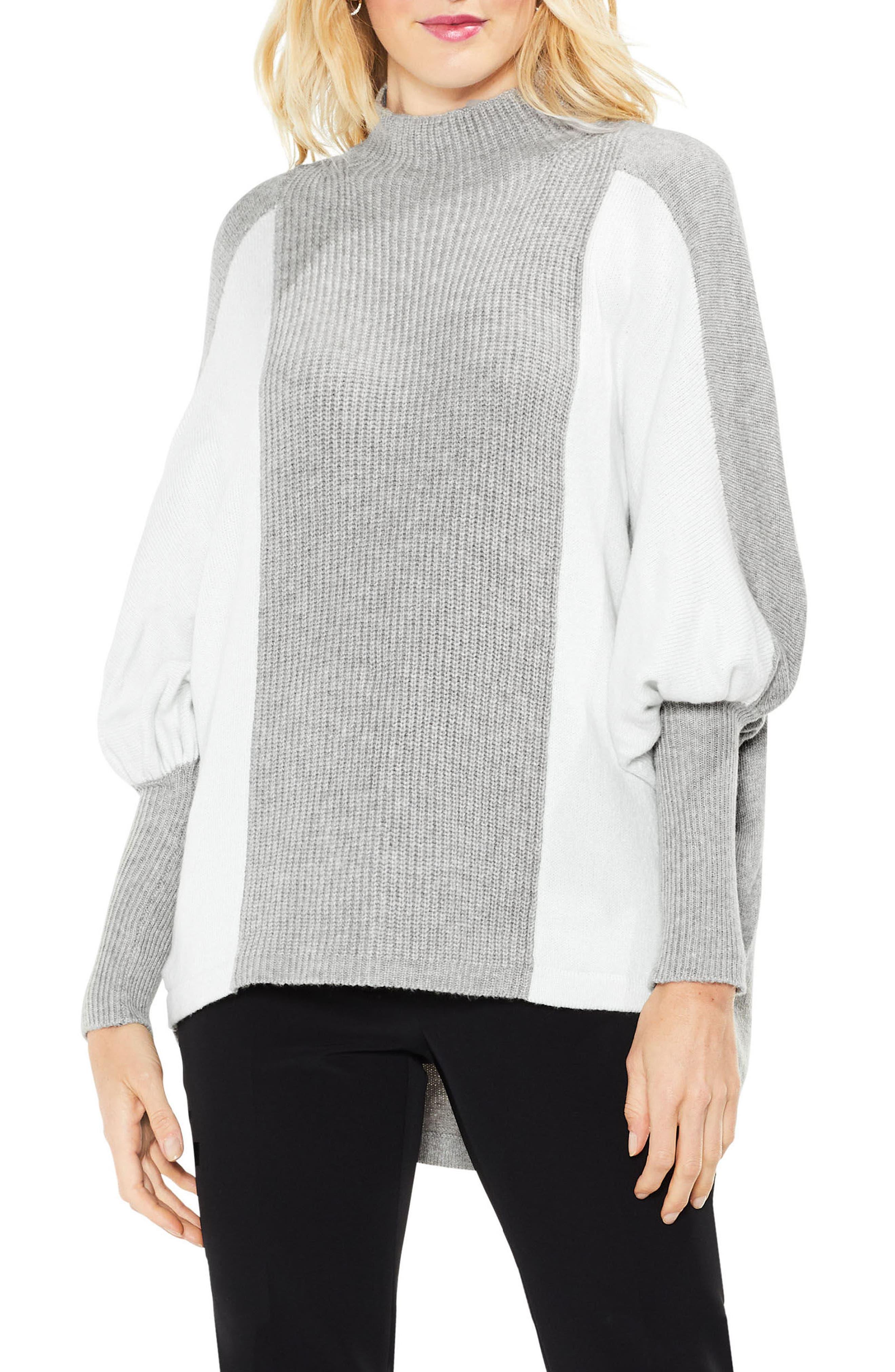 Dolman Sleeve Colorblock Sweater,                             Main thumbnail 2, color,