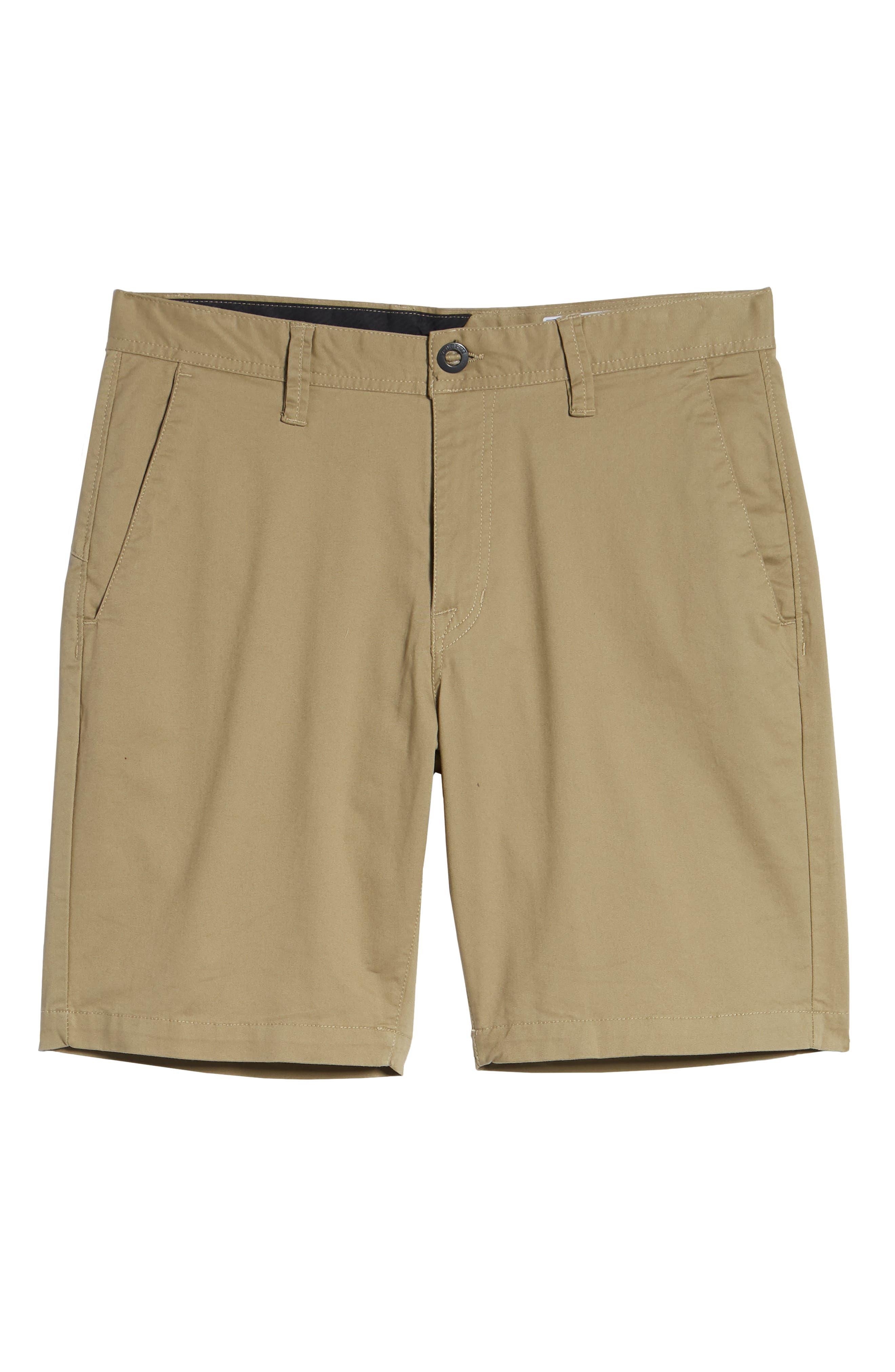 Lightweight Shorts,                             Alternate thumbnail 6, color,                             KHAKI