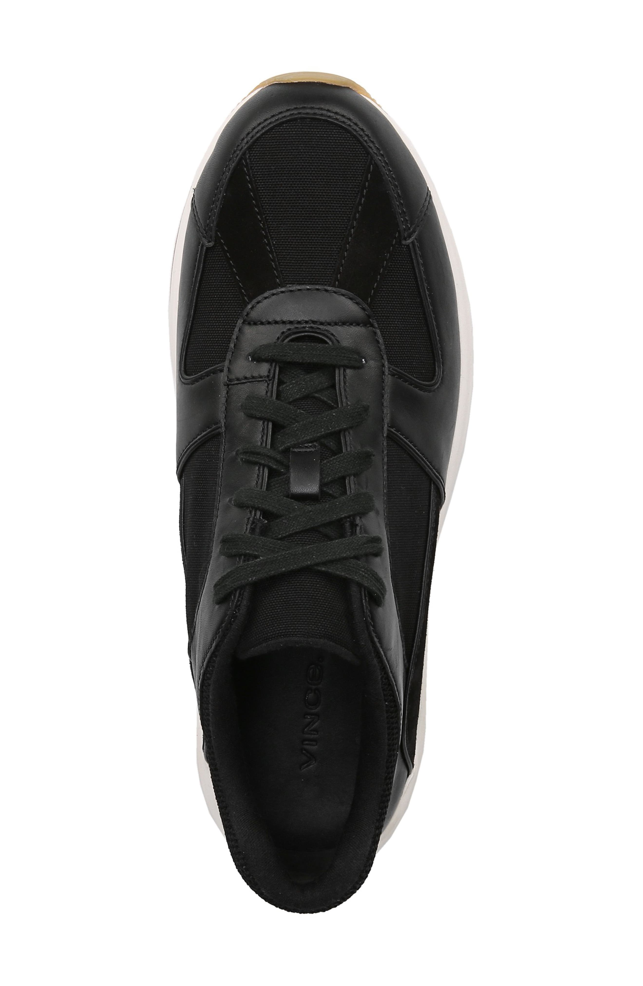 Griffin Sneaker,                             Alternate thumbnail 5, color,                             BLACK/ MADDOX