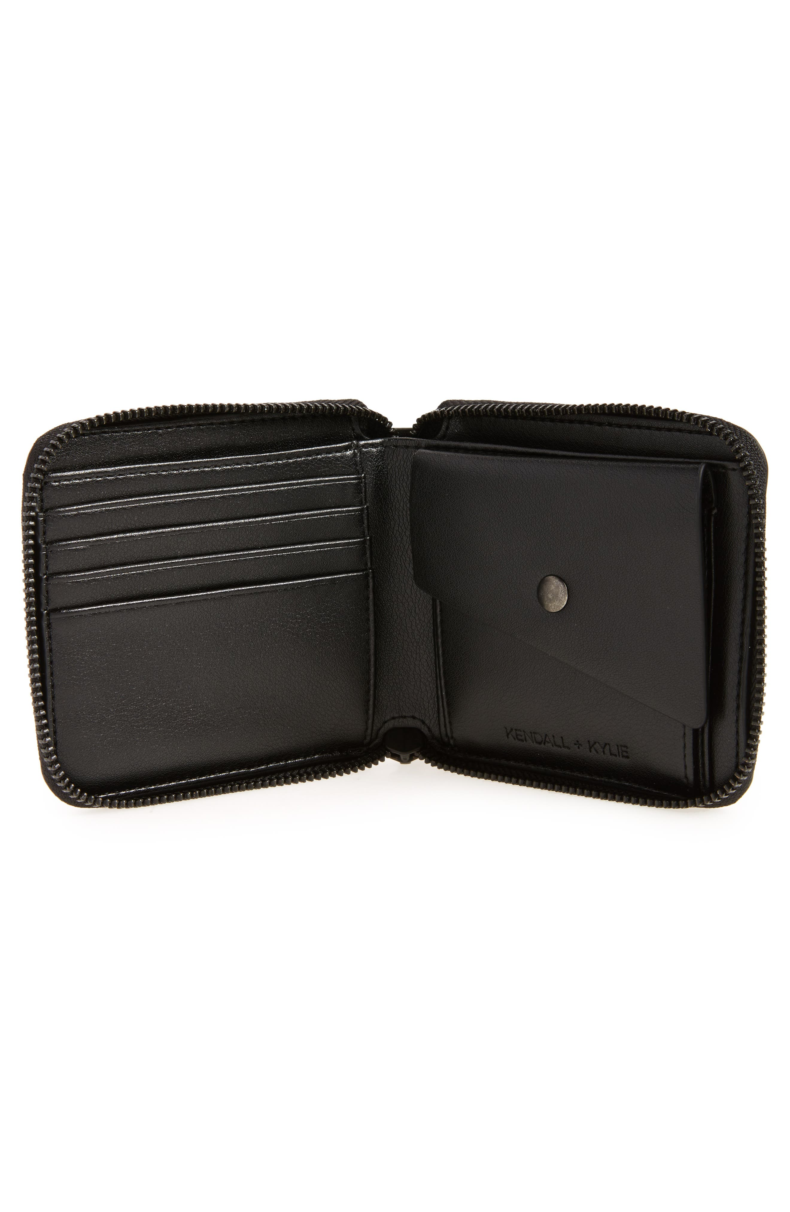 Brodie Faux Leather Wallet,                             Alternate thumbnail 2, color,                             004