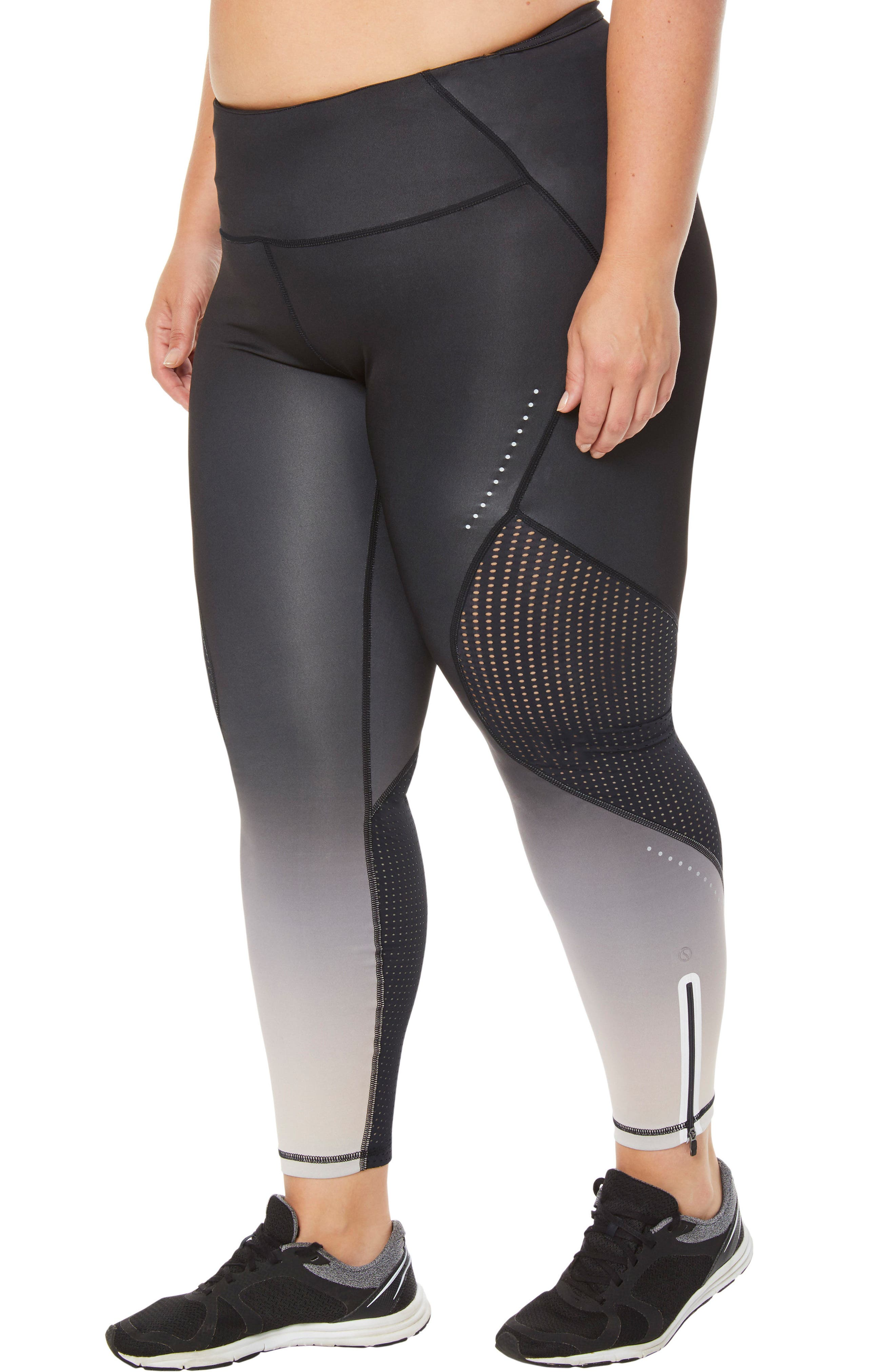 Protech V.3 Leggings,                             Alternate thumbnail 8, color,                             OMBRE TAUPE