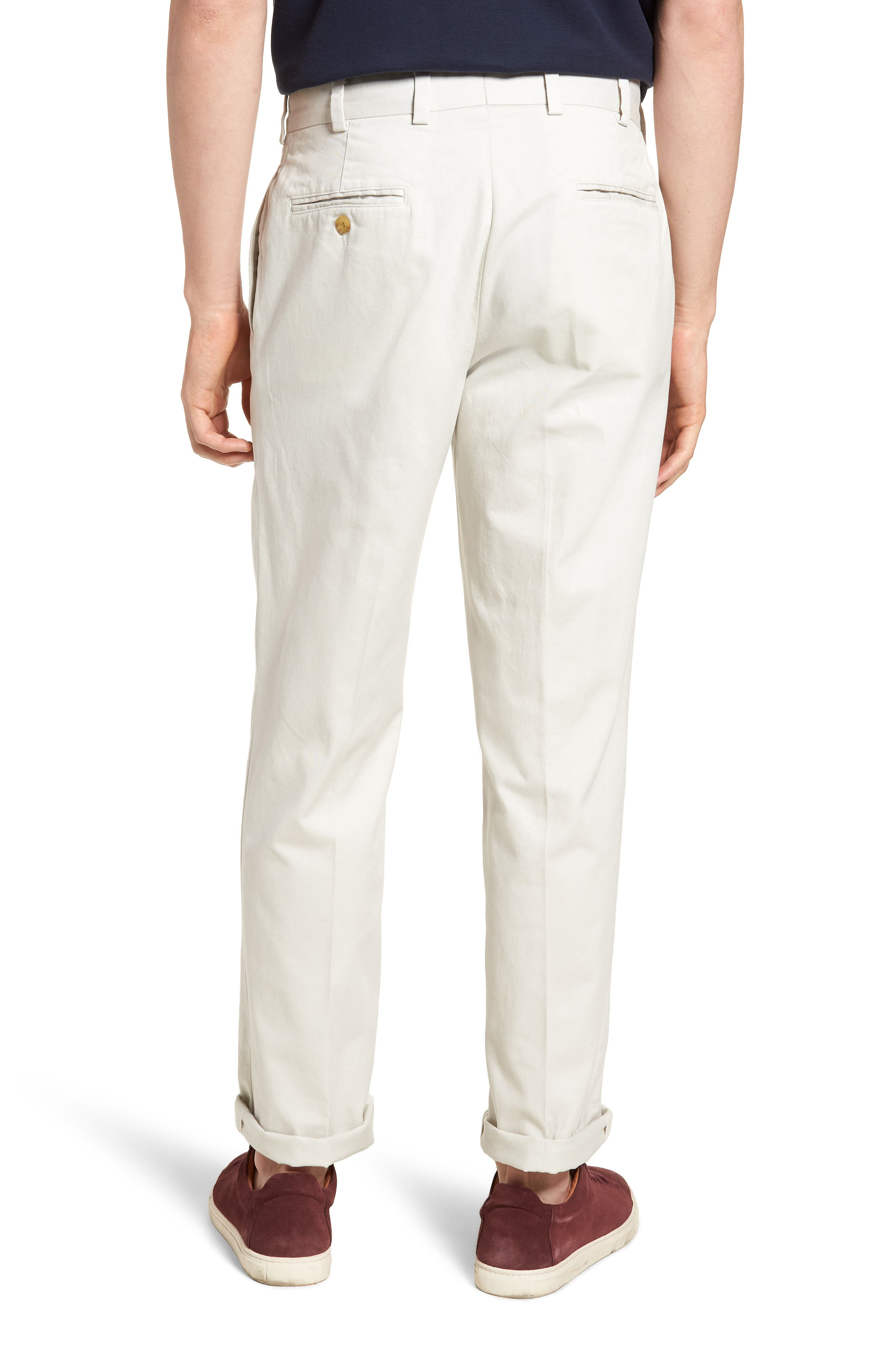 M2 Classic Fit Vintage Twill Flat Front Pants,                             Alternate thumbnail 2, color,                             270