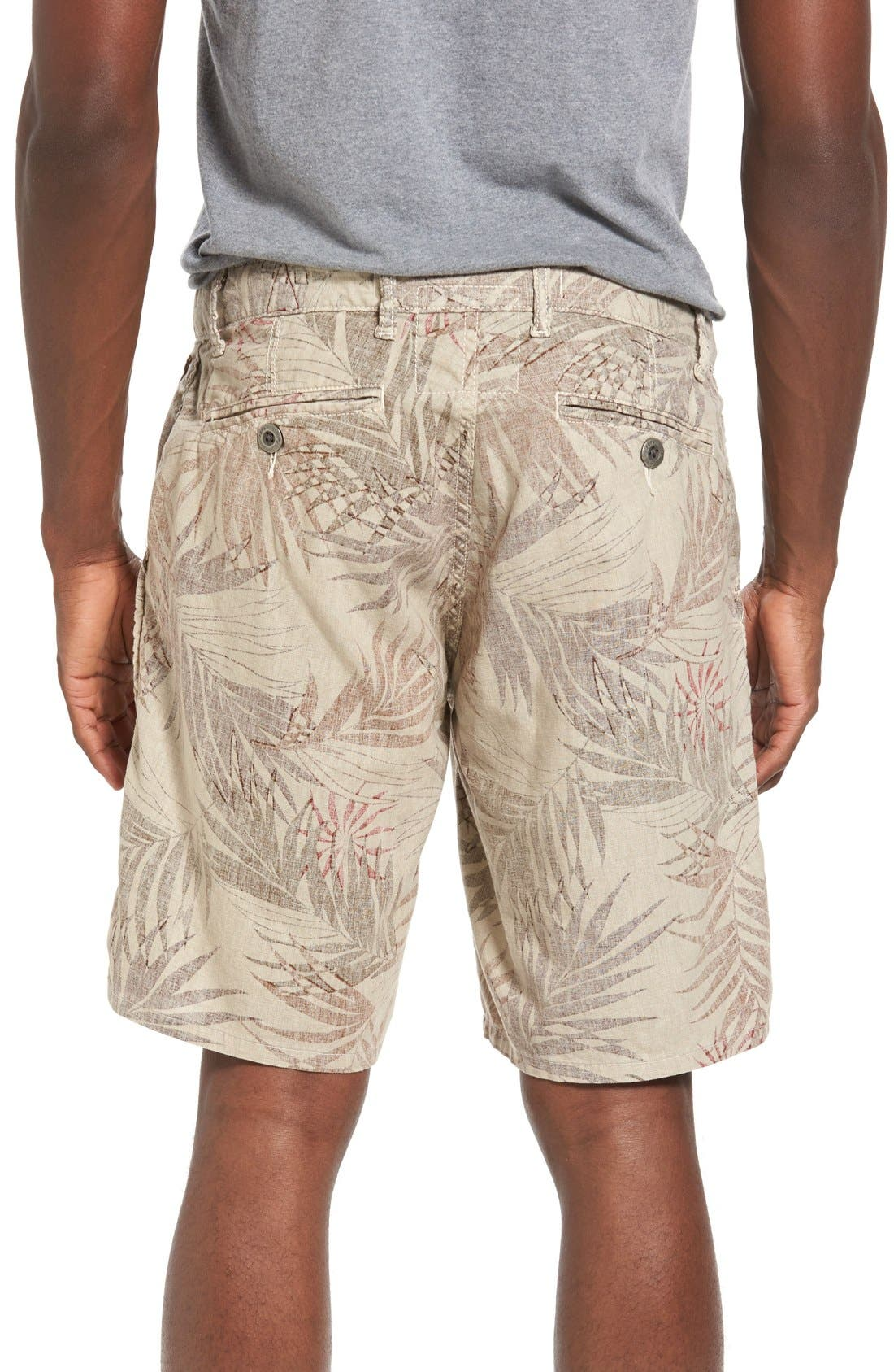 Rio Linen Shorts,                             Alternate thumbnail 3, color,                             280