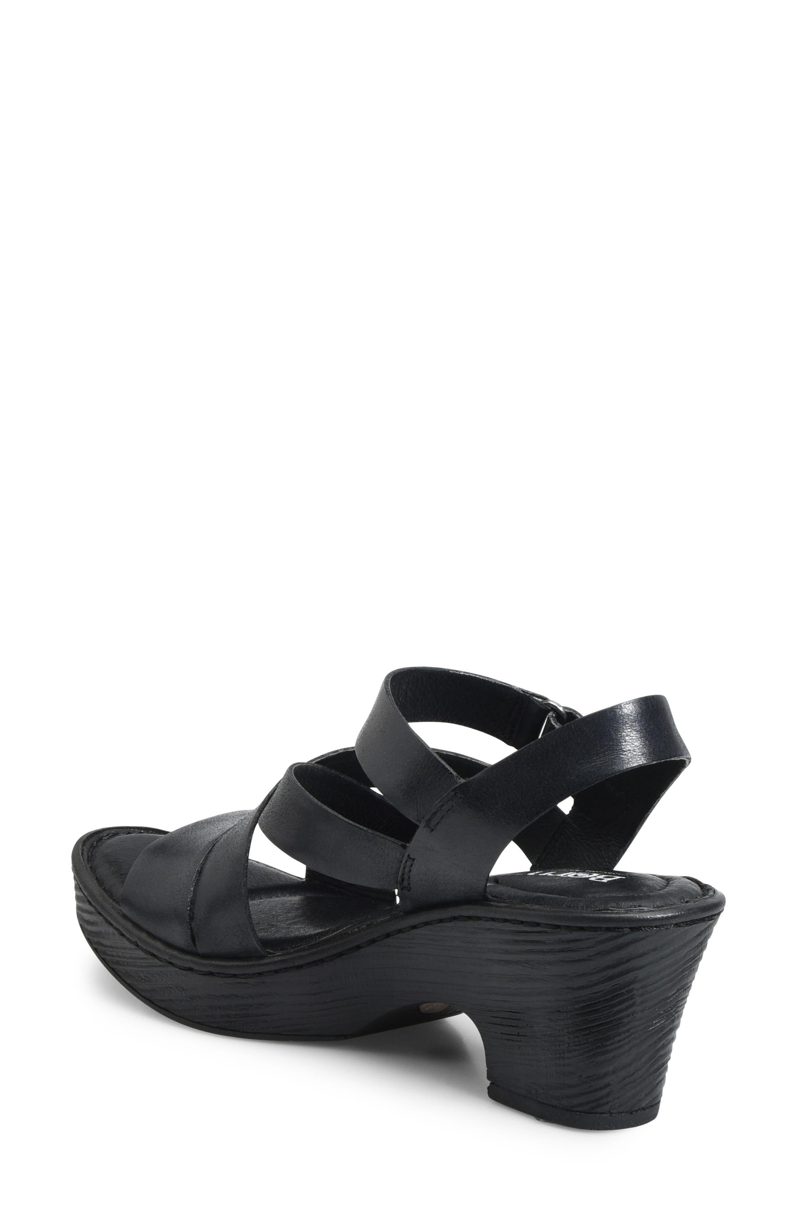 Cubera Platform Sandal,                             Alternate thumbnail 2, color,                             001