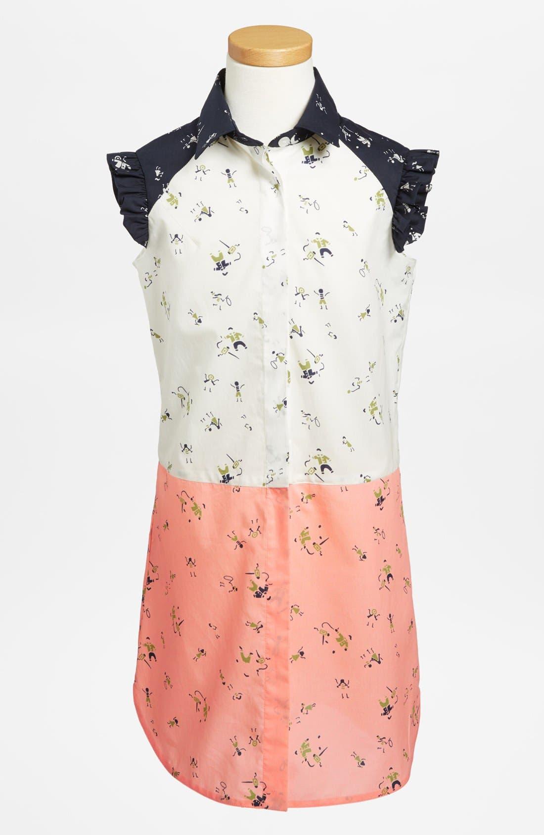 MARNI 'Abito St. Omni' Dress, Main, color, 400