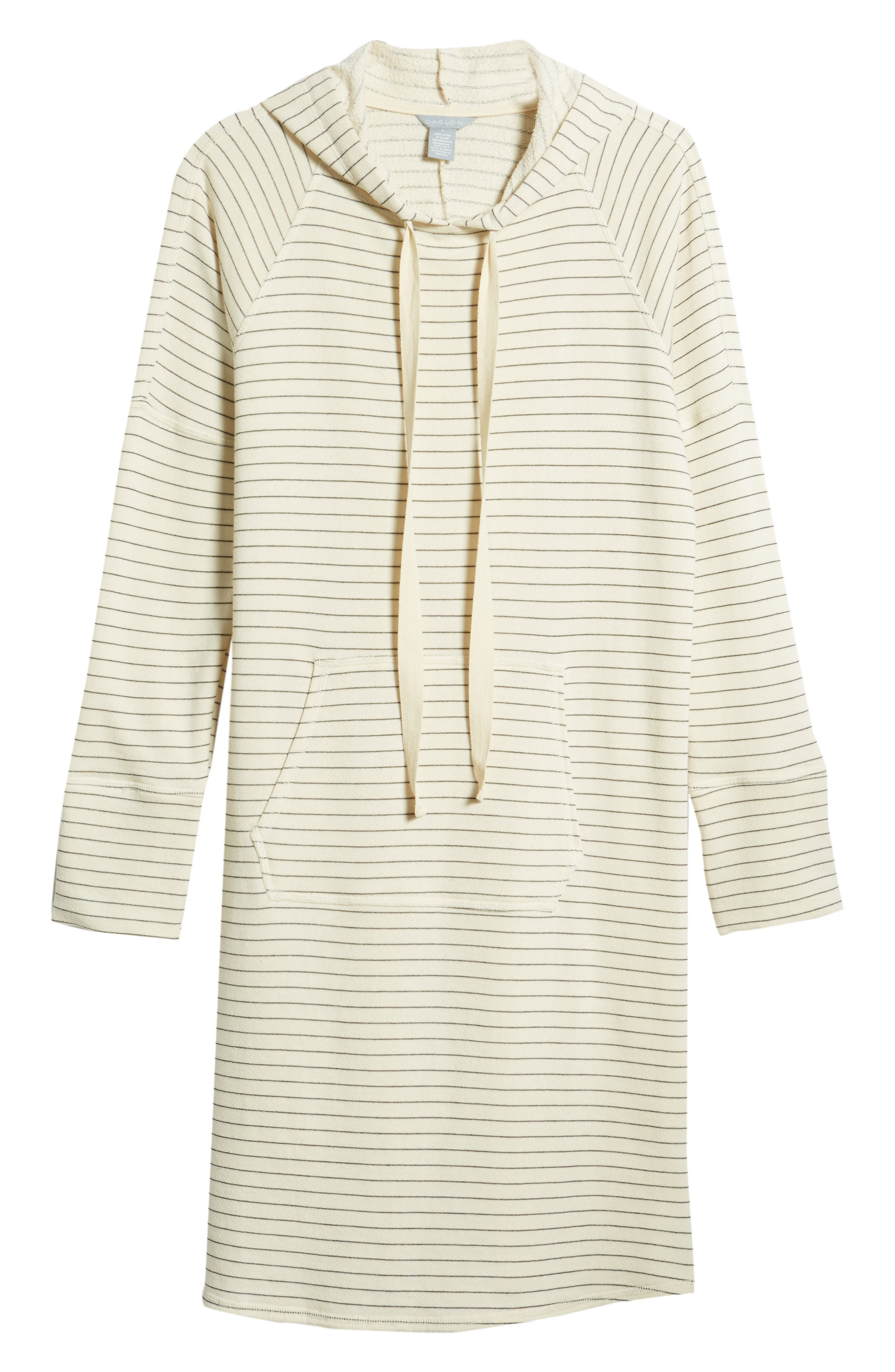 Hooded French Terry Dress,                             Alternate thumbnail 13, color,