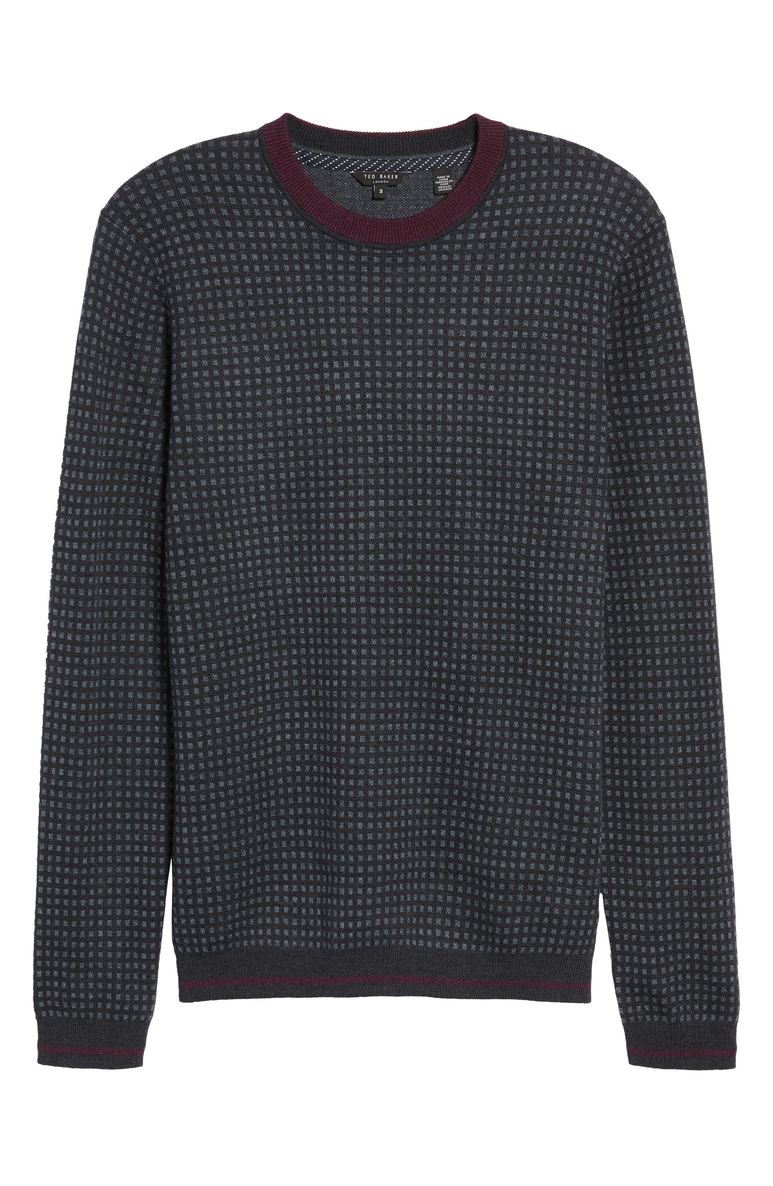 Parvine Crewneck Sweater,                             Alternate thumbnail 6, color,                             031