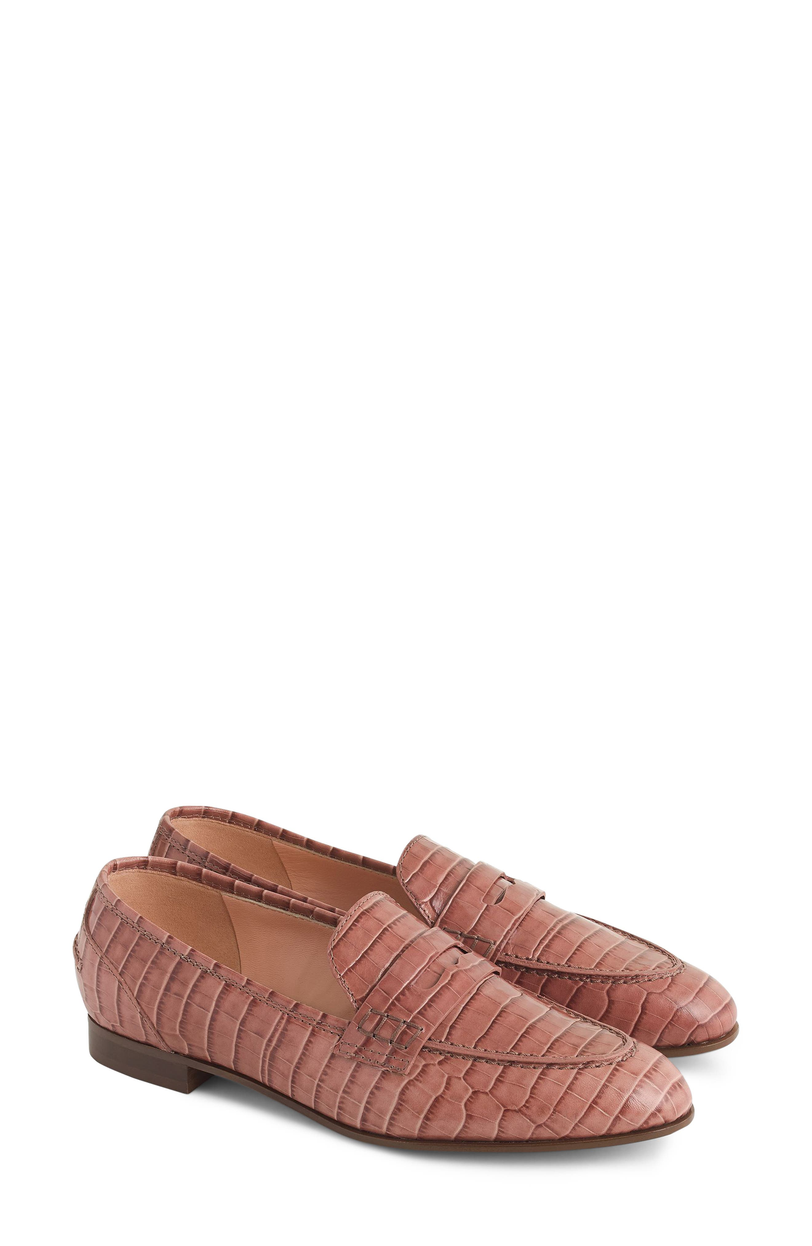 Academy Penny Loafer,                             Main thumbnail 1, color,                             JASMINE FROST
