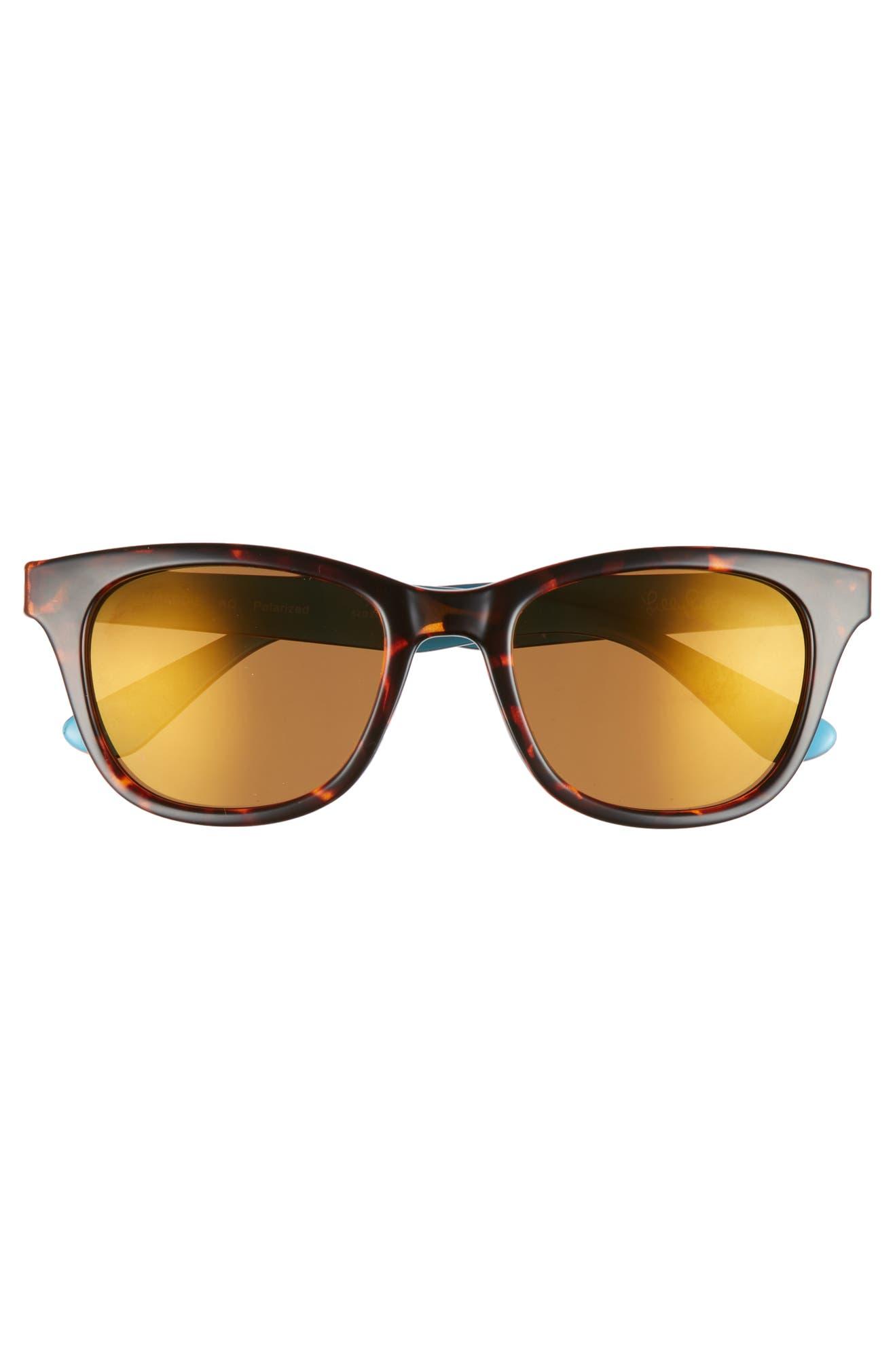 309da495a5 Lilly Pulitzer® Maddie 52mm Polarized Mirrored Sunglasses