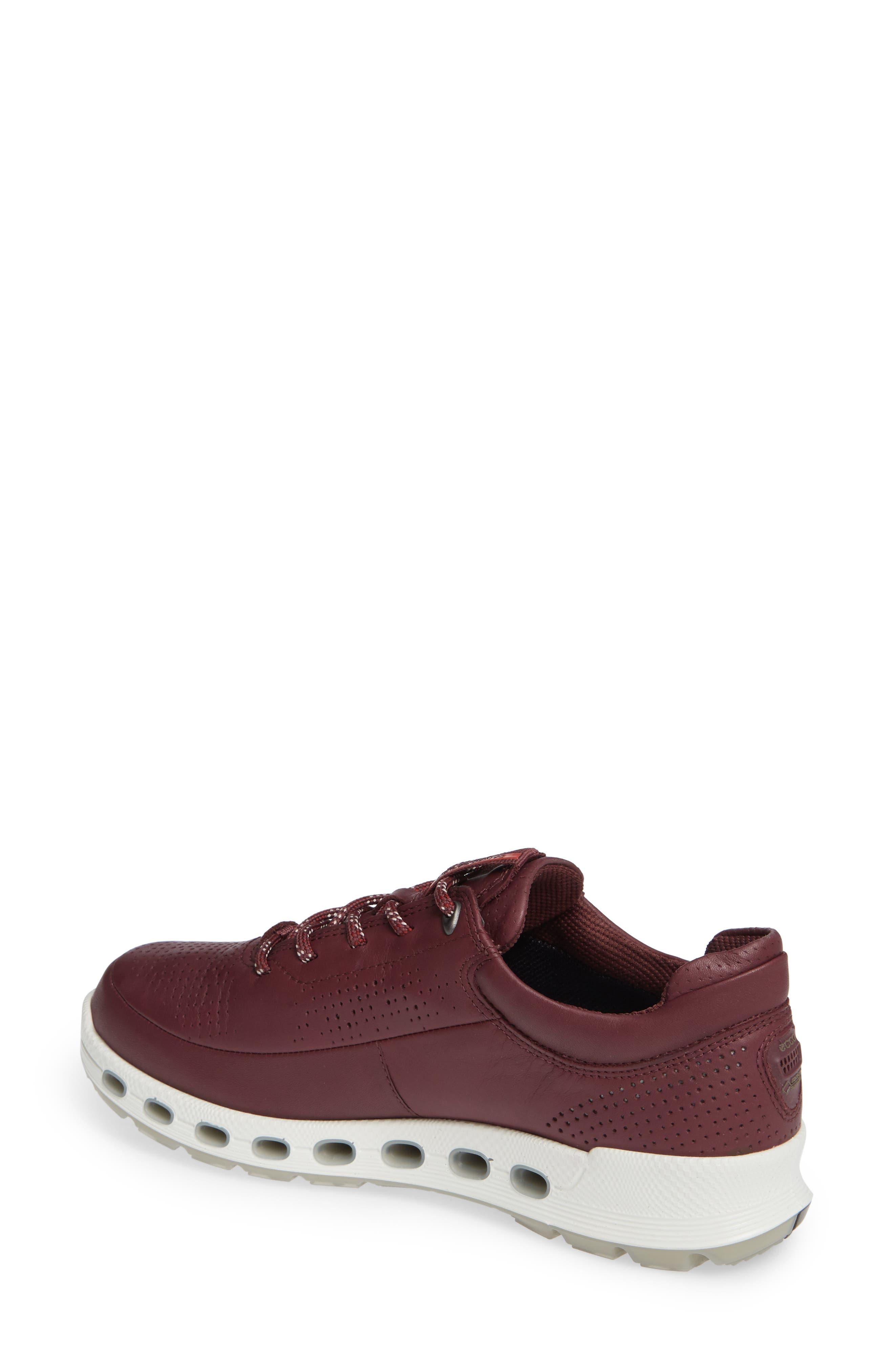 Cool 2.0 GTX Waterproof Sneaker,                             Alternate thumbnail 2, color,                             WINE LEATHER
