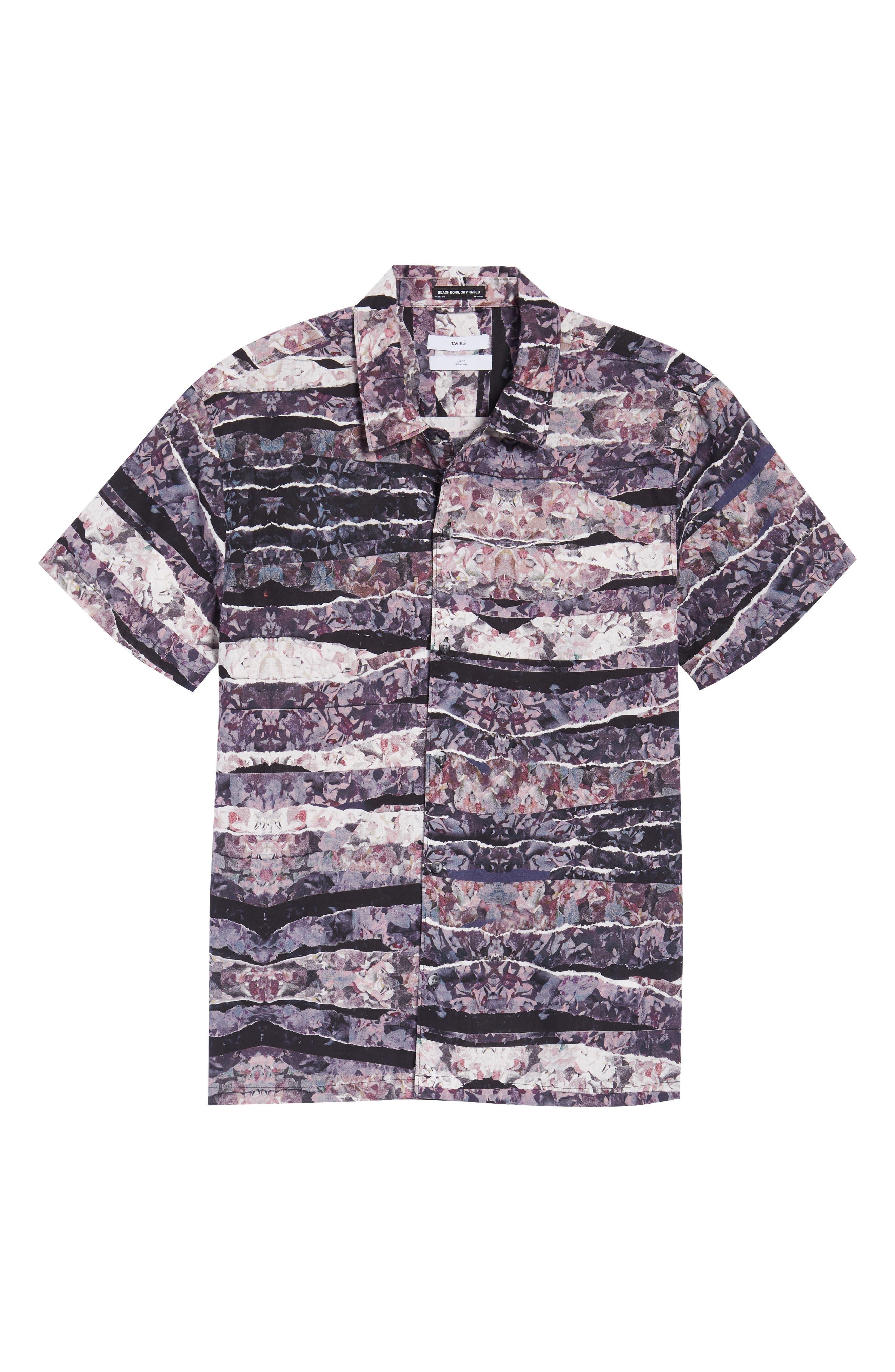 Shoto Short Sleeve Shirt,                             Alternate thumbnail 18, color,
