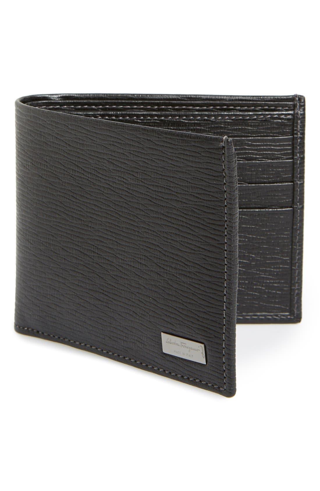 'Revival' Bifold Wallet, Main, color, 001