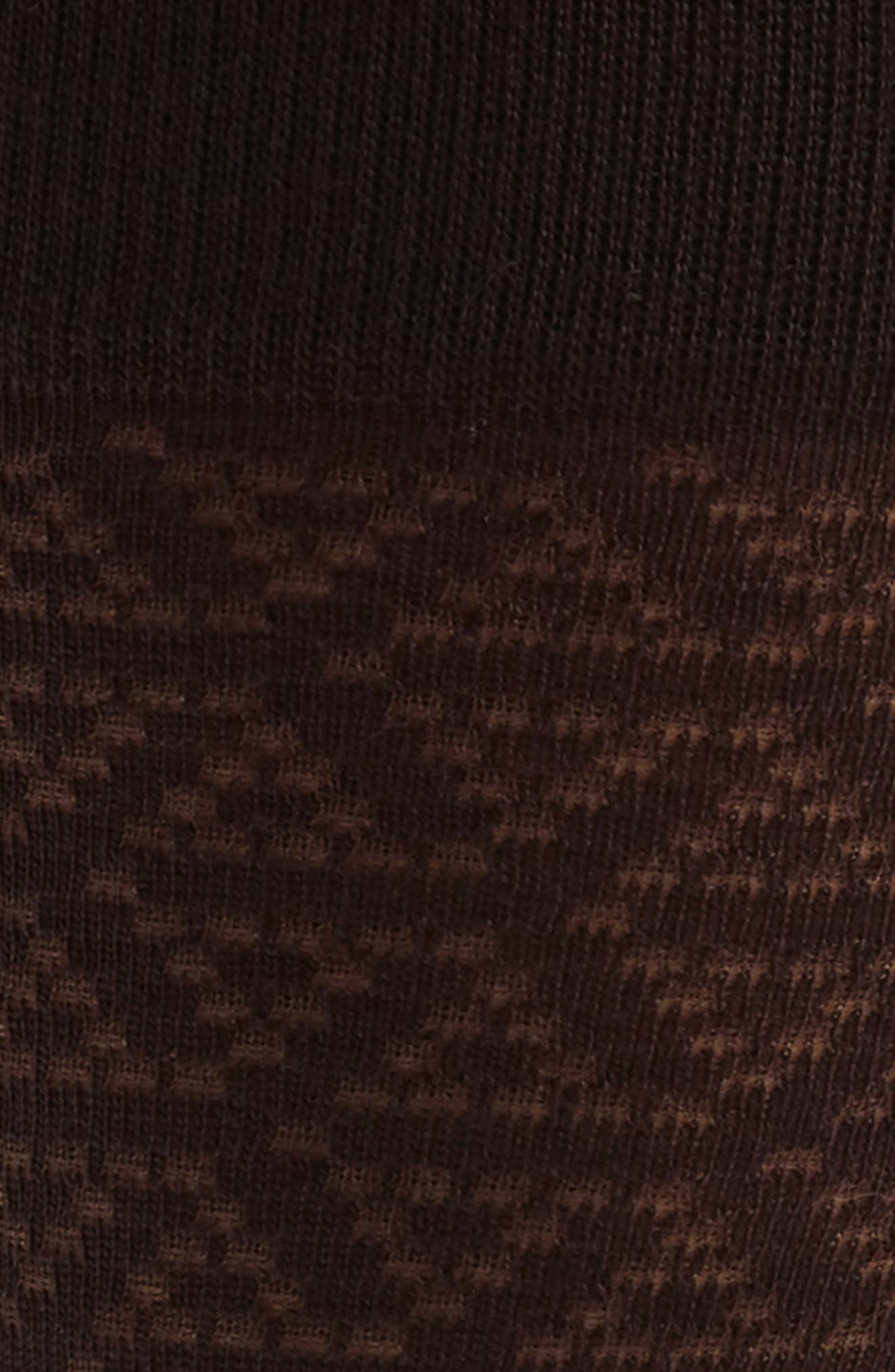 Pointed Triangle Socks,                             Alternate thumbnail 2, color,                             BURGUNDY STEM