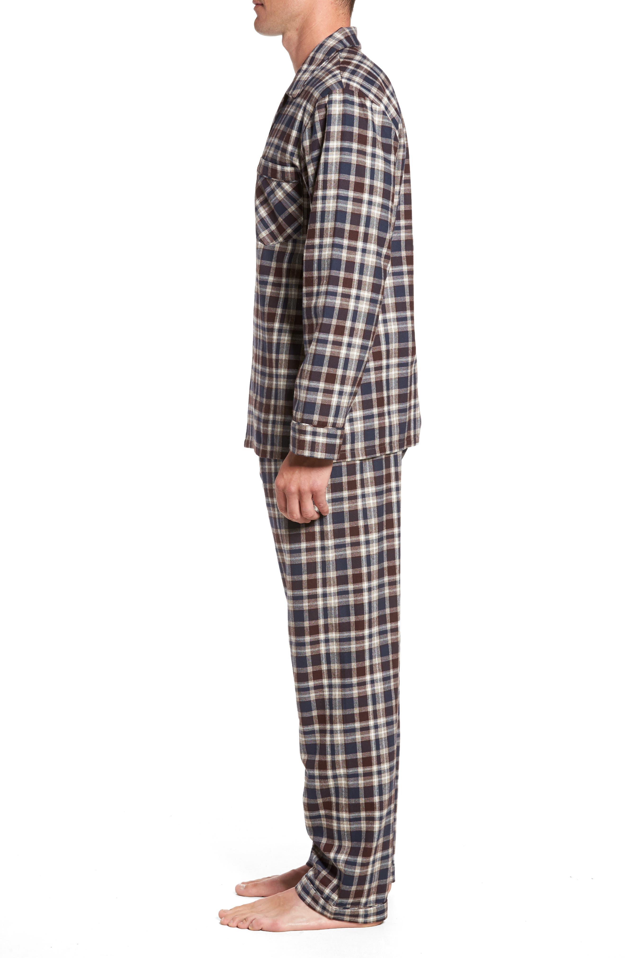 Bryson Plaid Pajama Set,                             Alternate thumbnail 9, color,