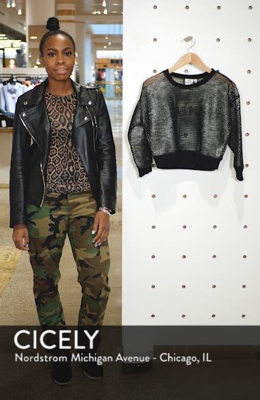 Branded Mesh Pullover Sweatshirt, sales video thumbnail