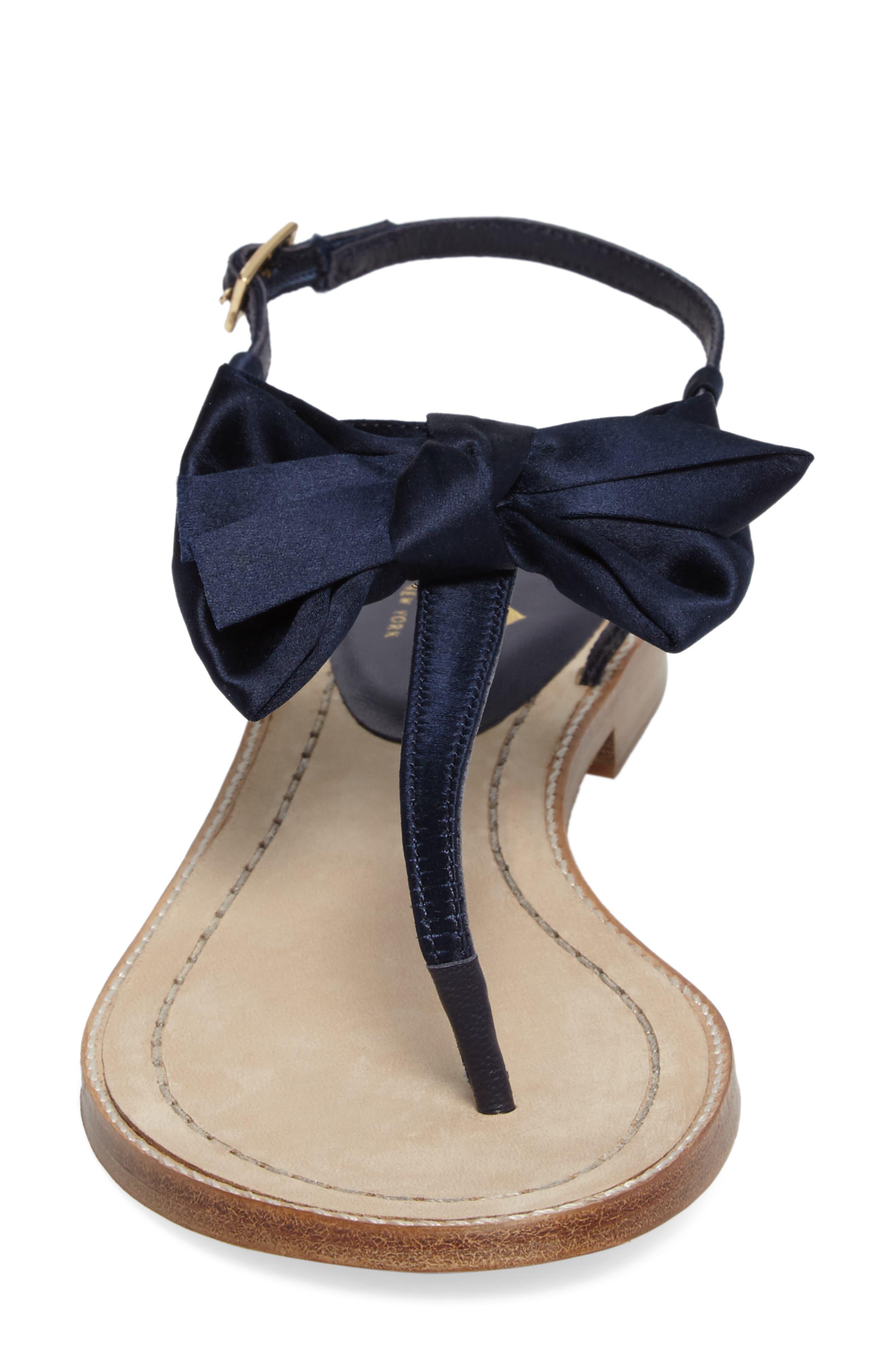 serrano bow sandal,                             Alternate thumbnail 14, color,