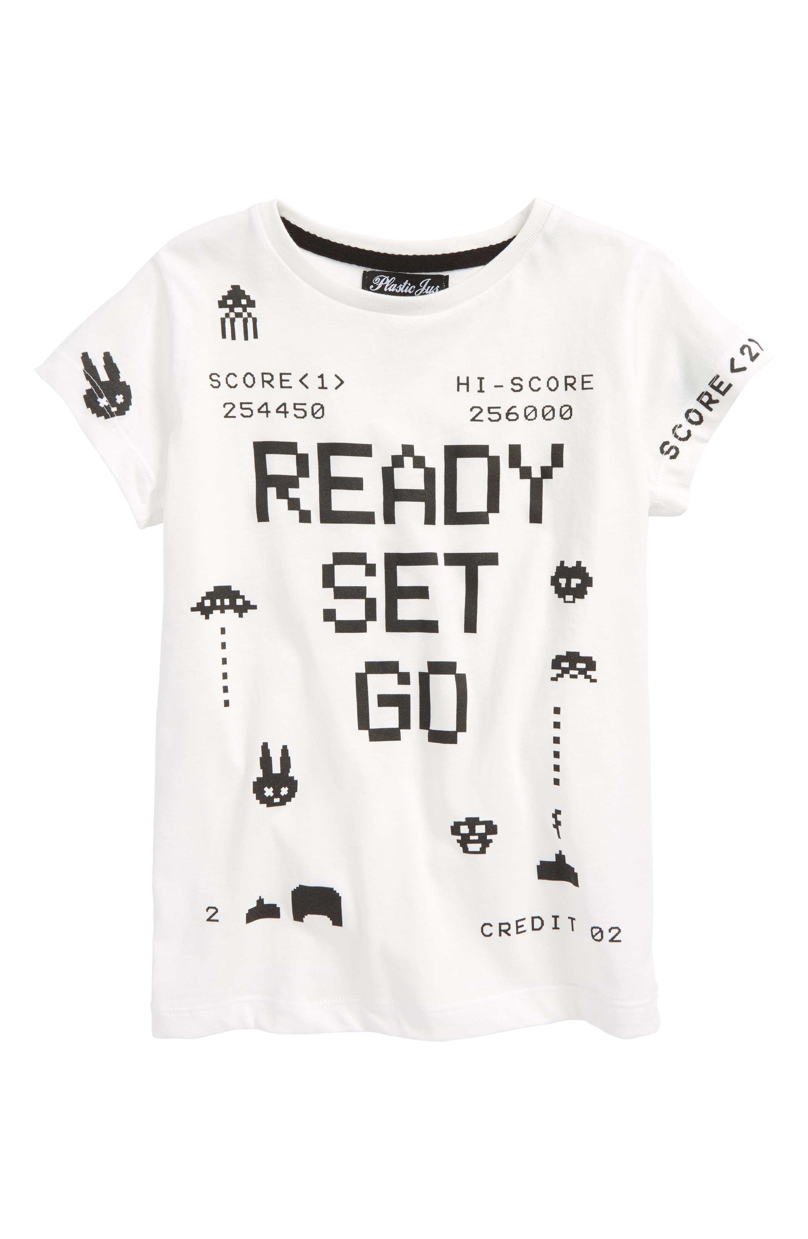 Ready Set Go Graphic T-Shirt,                             Main thumbnail 1, color,                             100