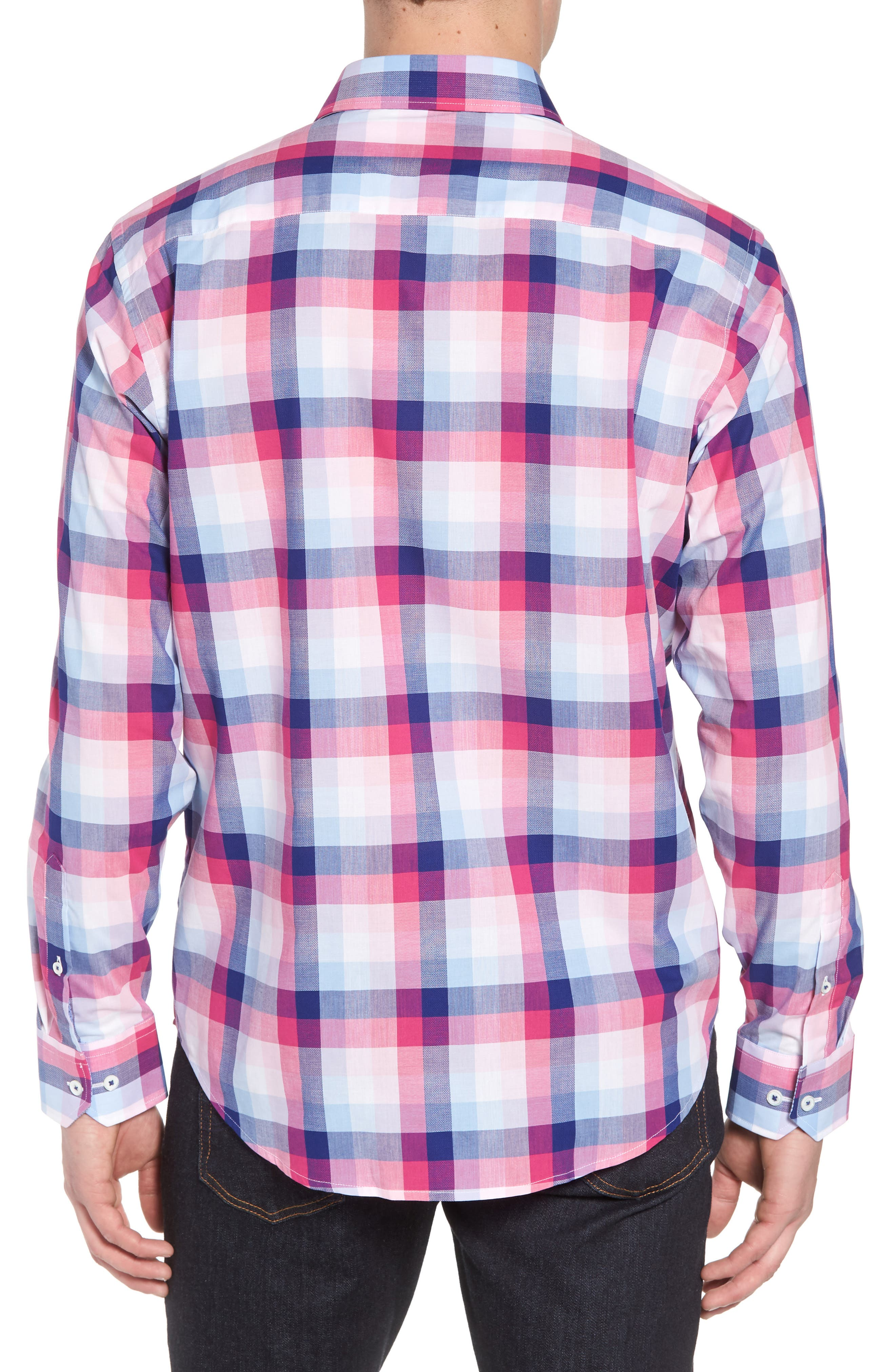 Classic Fit Woven Sport Shirt,                             Alternate thumbnail 2, color,                             660