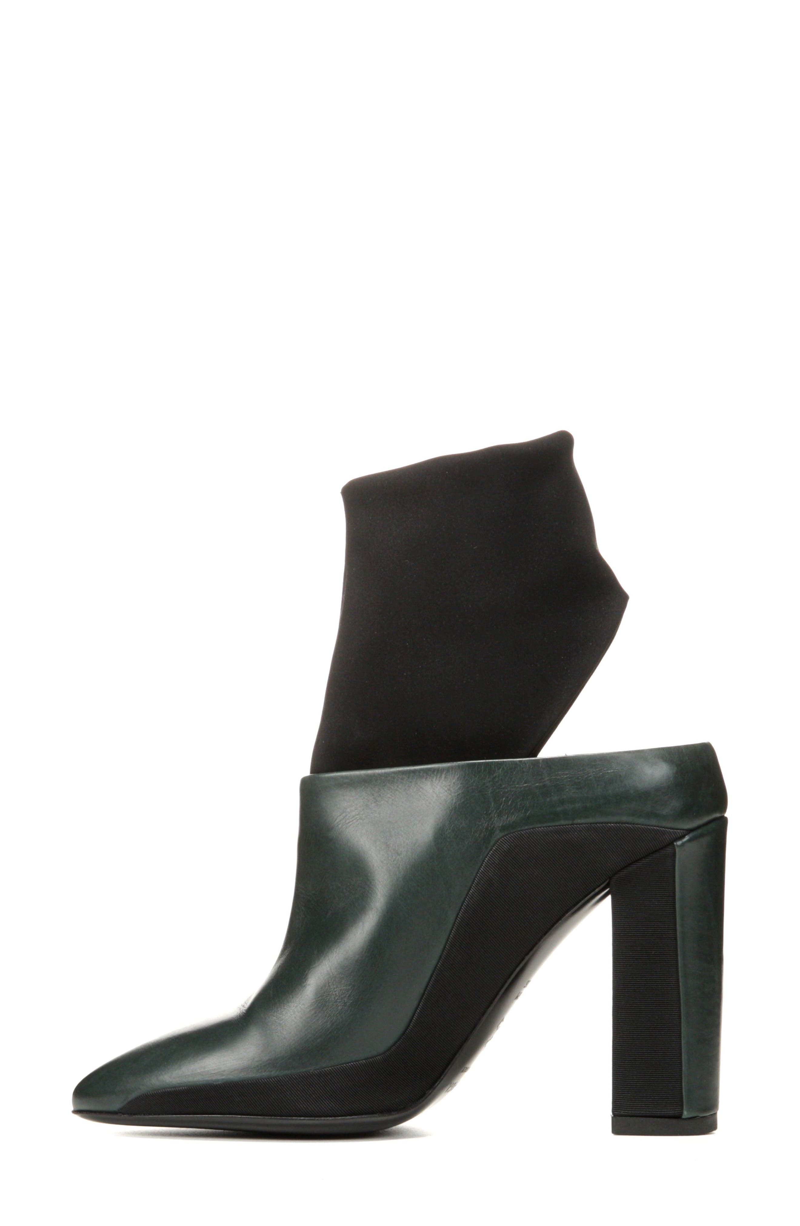 Agyness Cutout Boot,                             Alternate thumbnail 9, color,