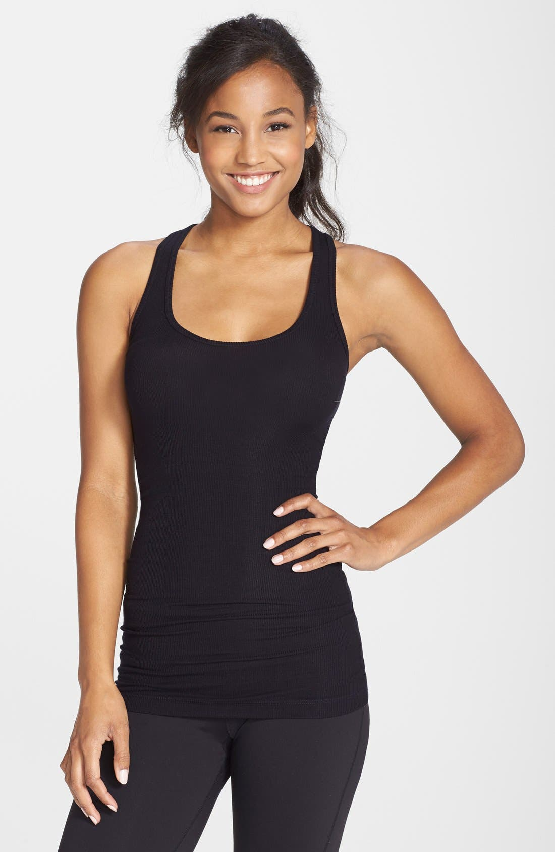 'Ashby' Racerback Tank,                         Main,                         color, 001