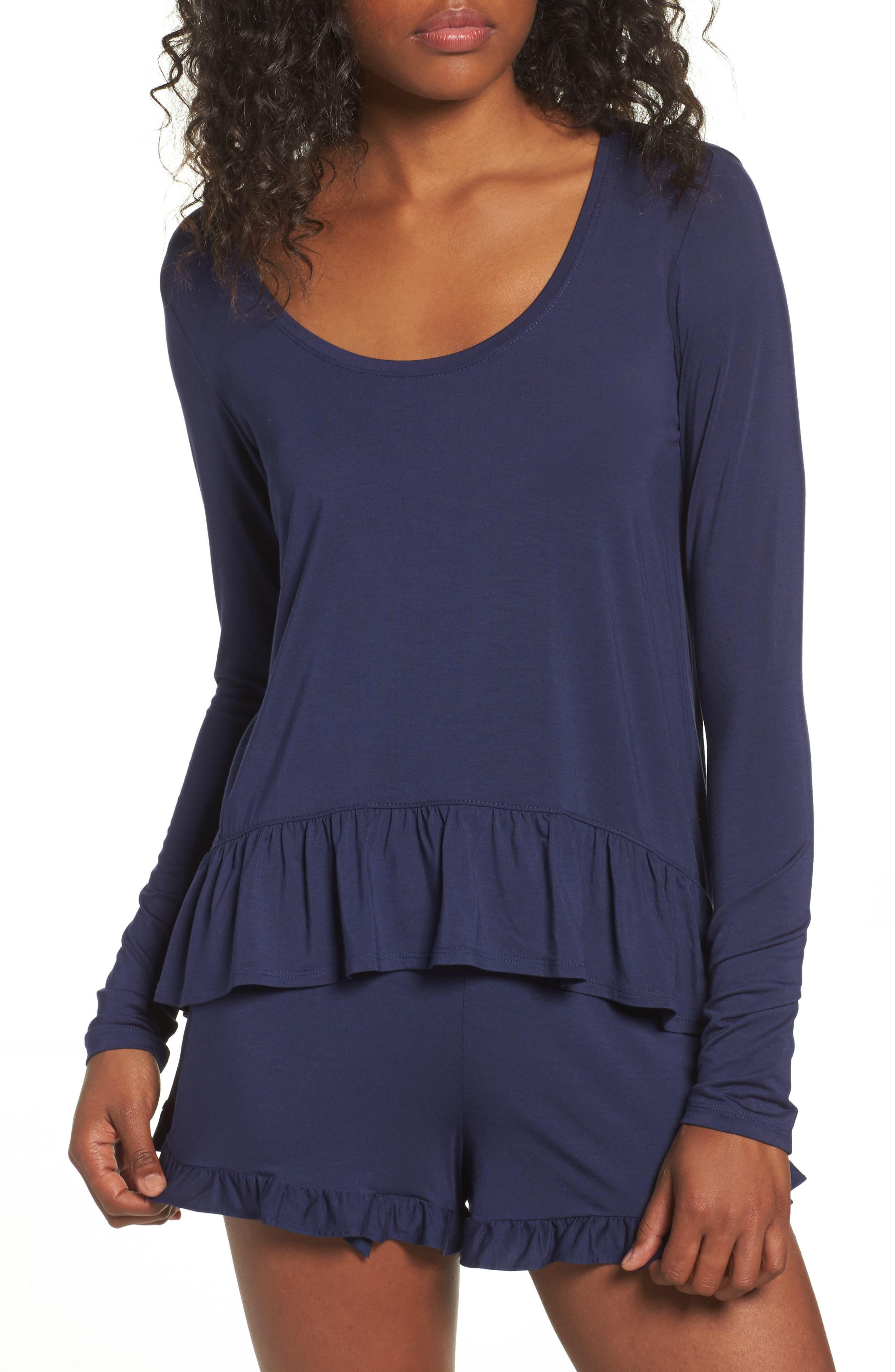 Jersey Pajamas,                             Main thumbnail 1, color,                             401