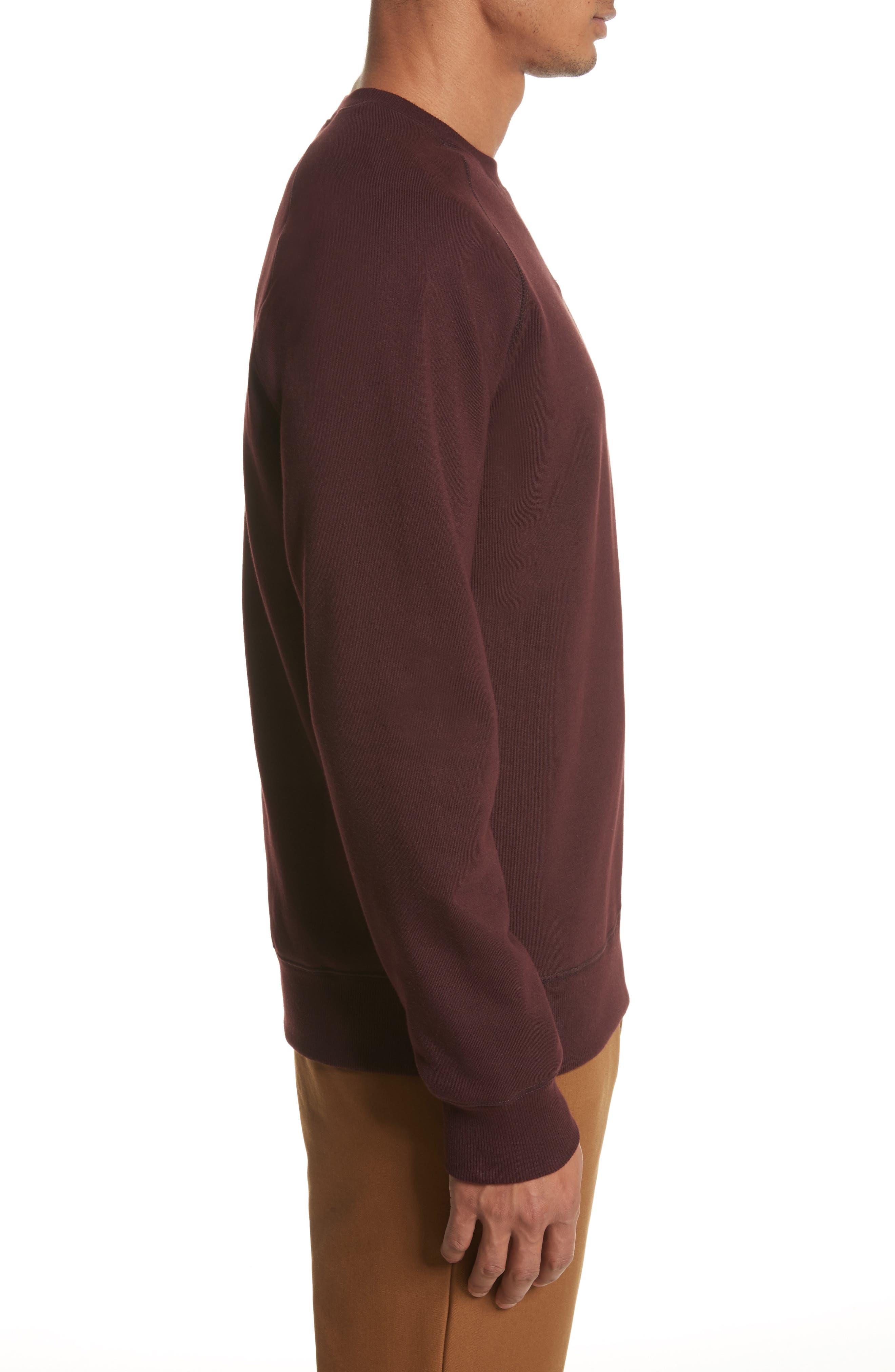 Crewneck Sweatshirt,                             Alternate thumbnail 3, color,                             930