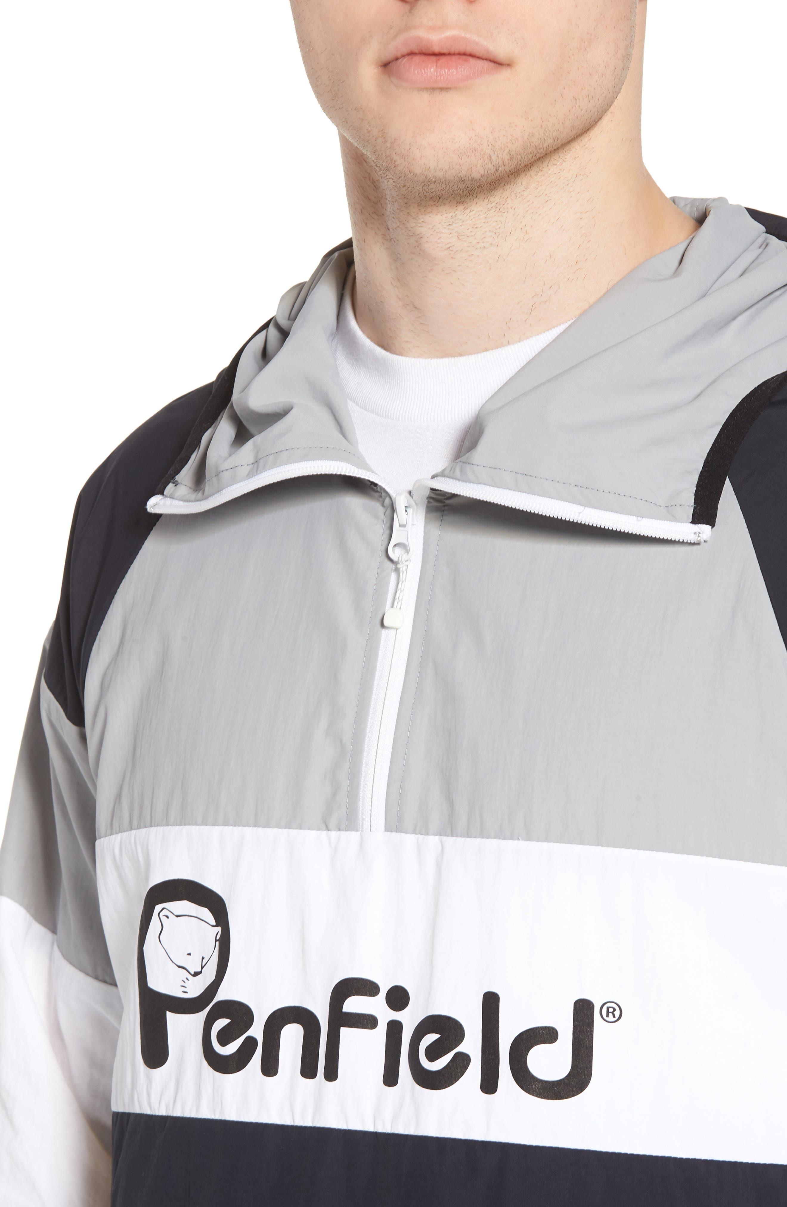 Block Pullover Jacket,                             Alternate thumbnail 4, color,                             001