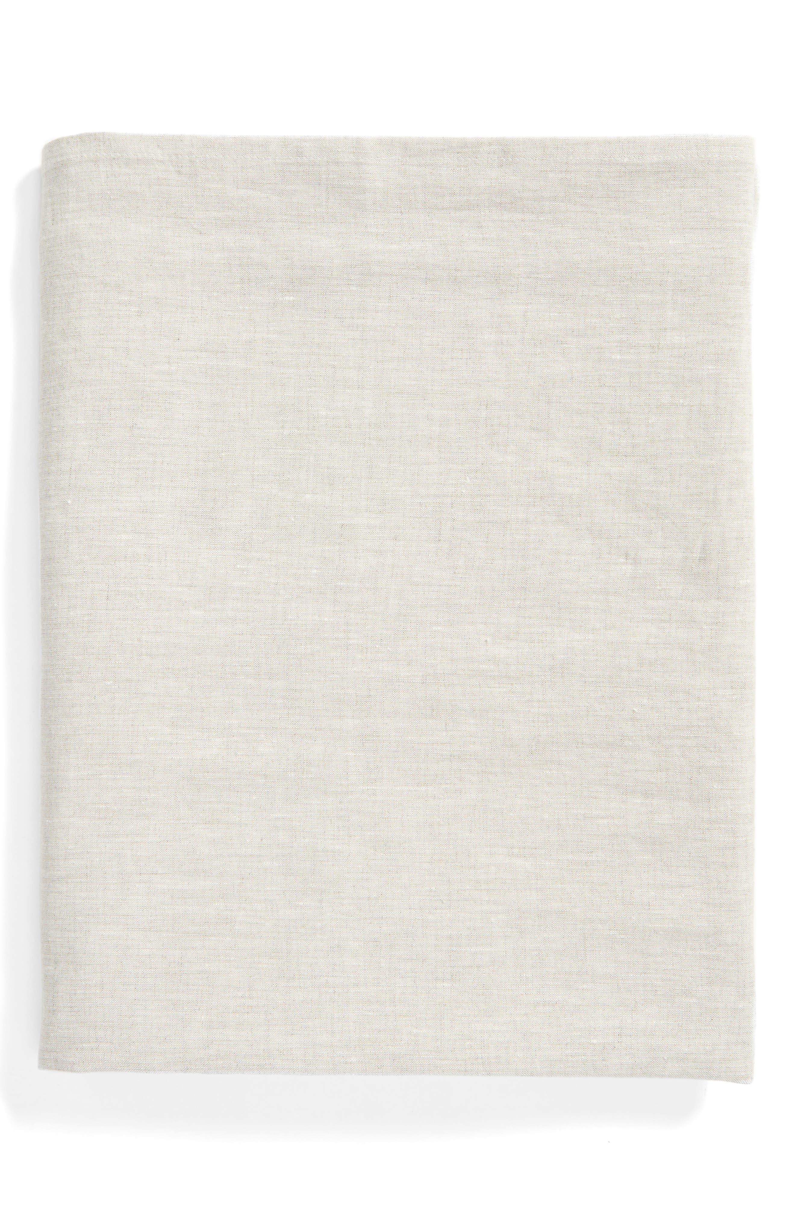 Washed Linen Tablecloth,                             Main thumbnail 3, color,
