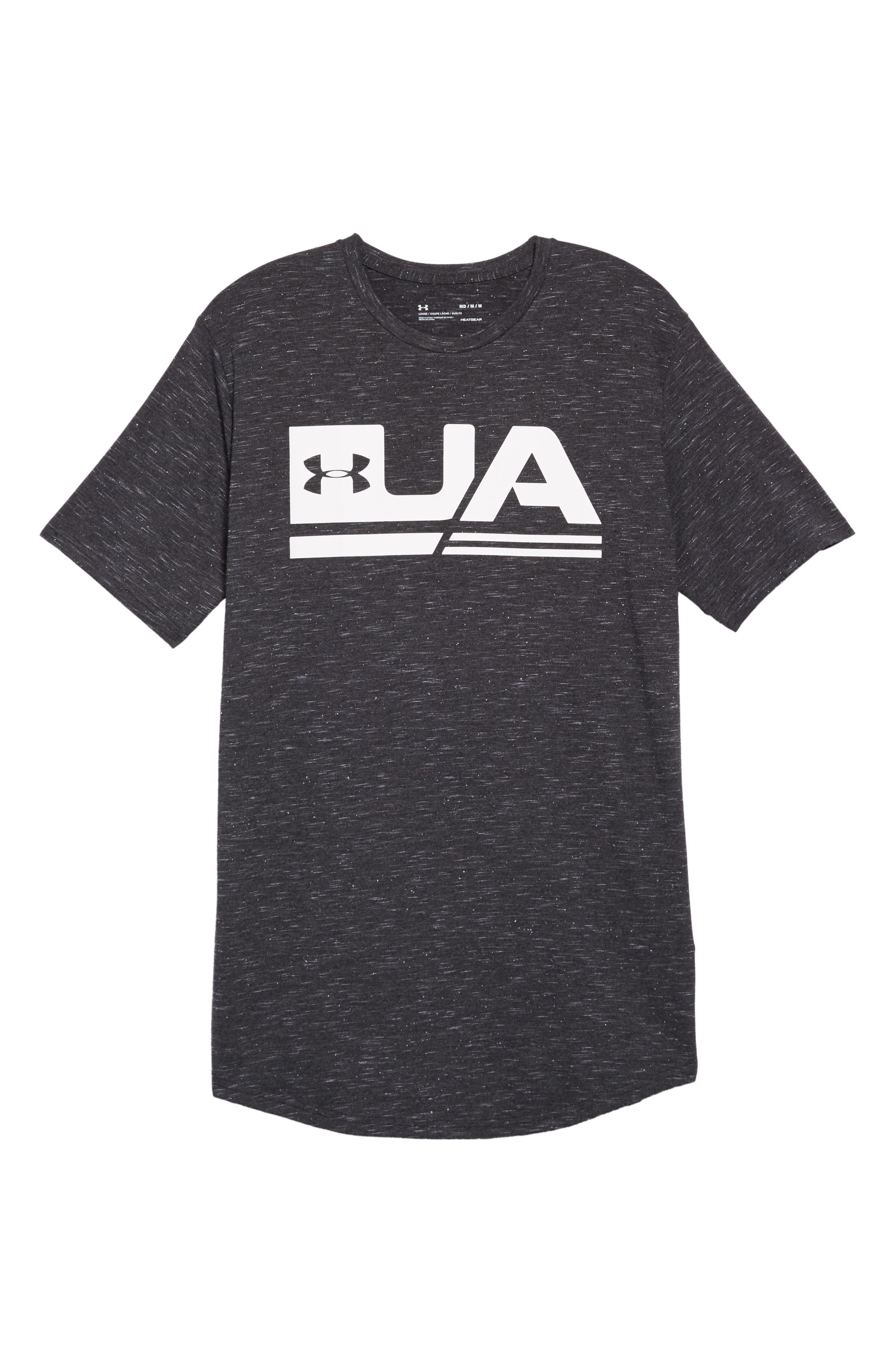 Sportstyle Graphic T-Shirt,                             Alternate thumbnail 6, color,                             BLACK