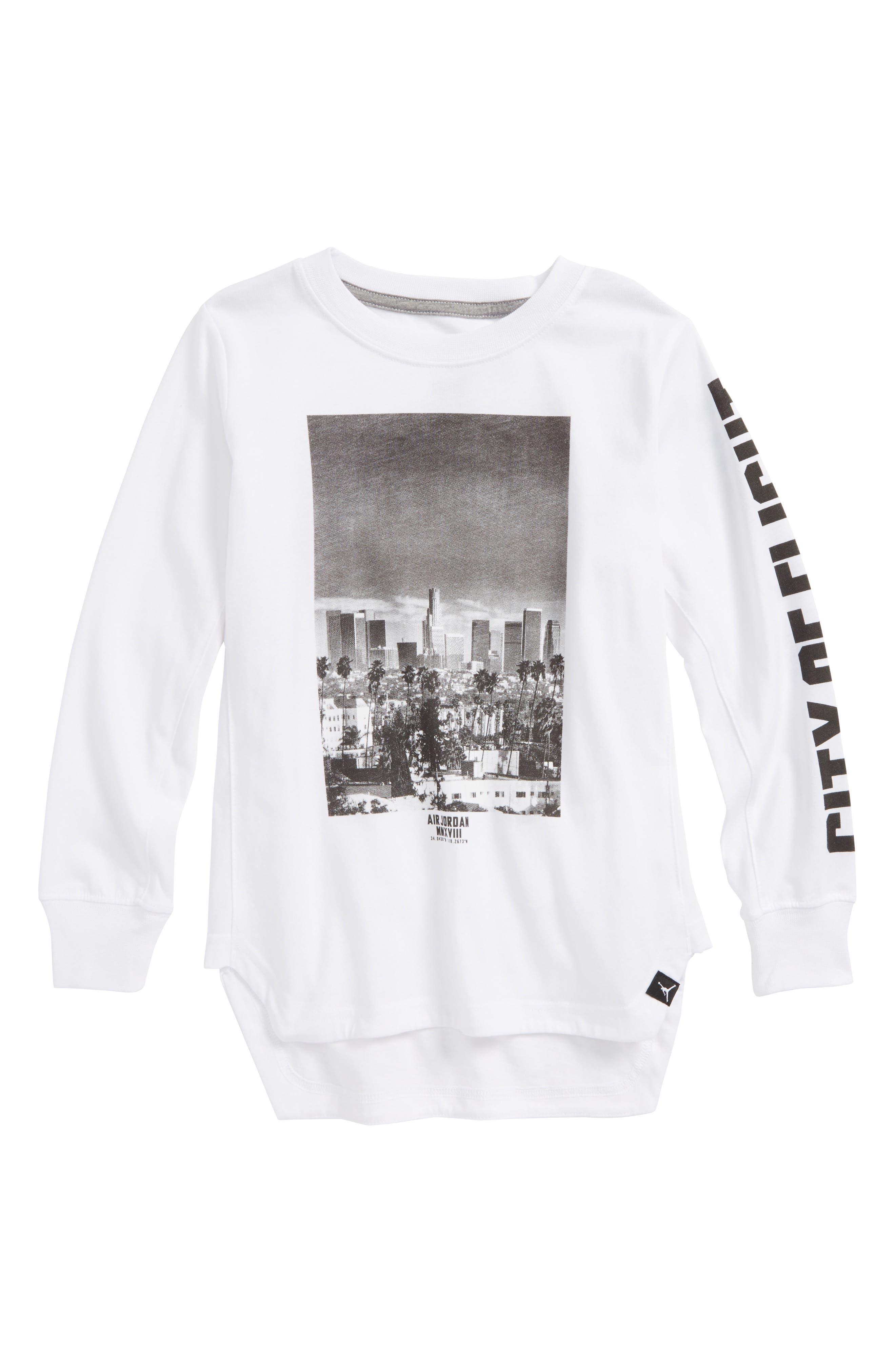 Jordan Photo T-Shirt,                             Main thumbnail 1, color,                             100