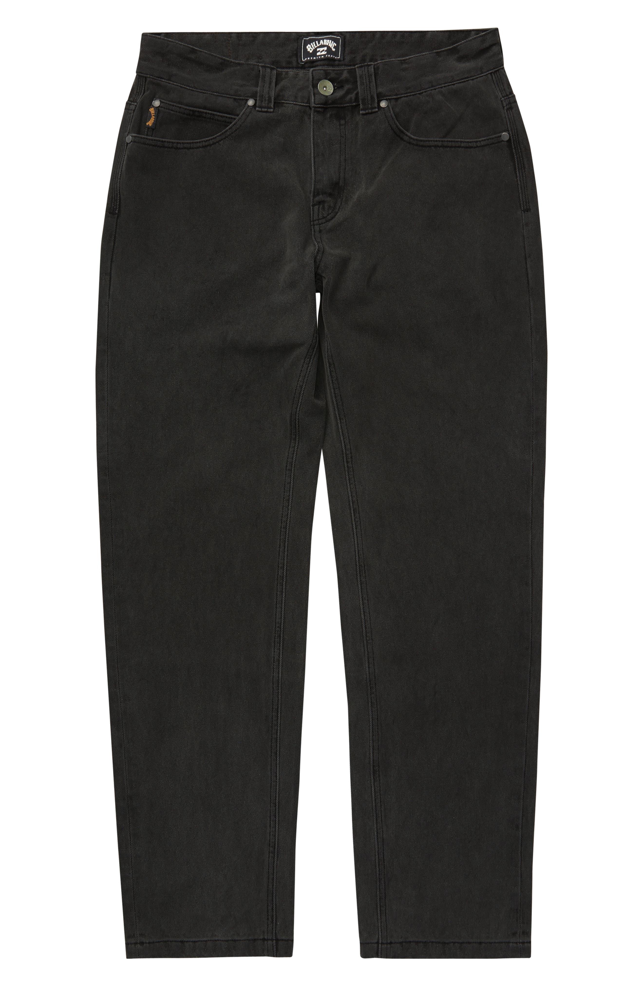Toddler Boys Billabong Outsider Straight Leg Jeans Size 3T  Black