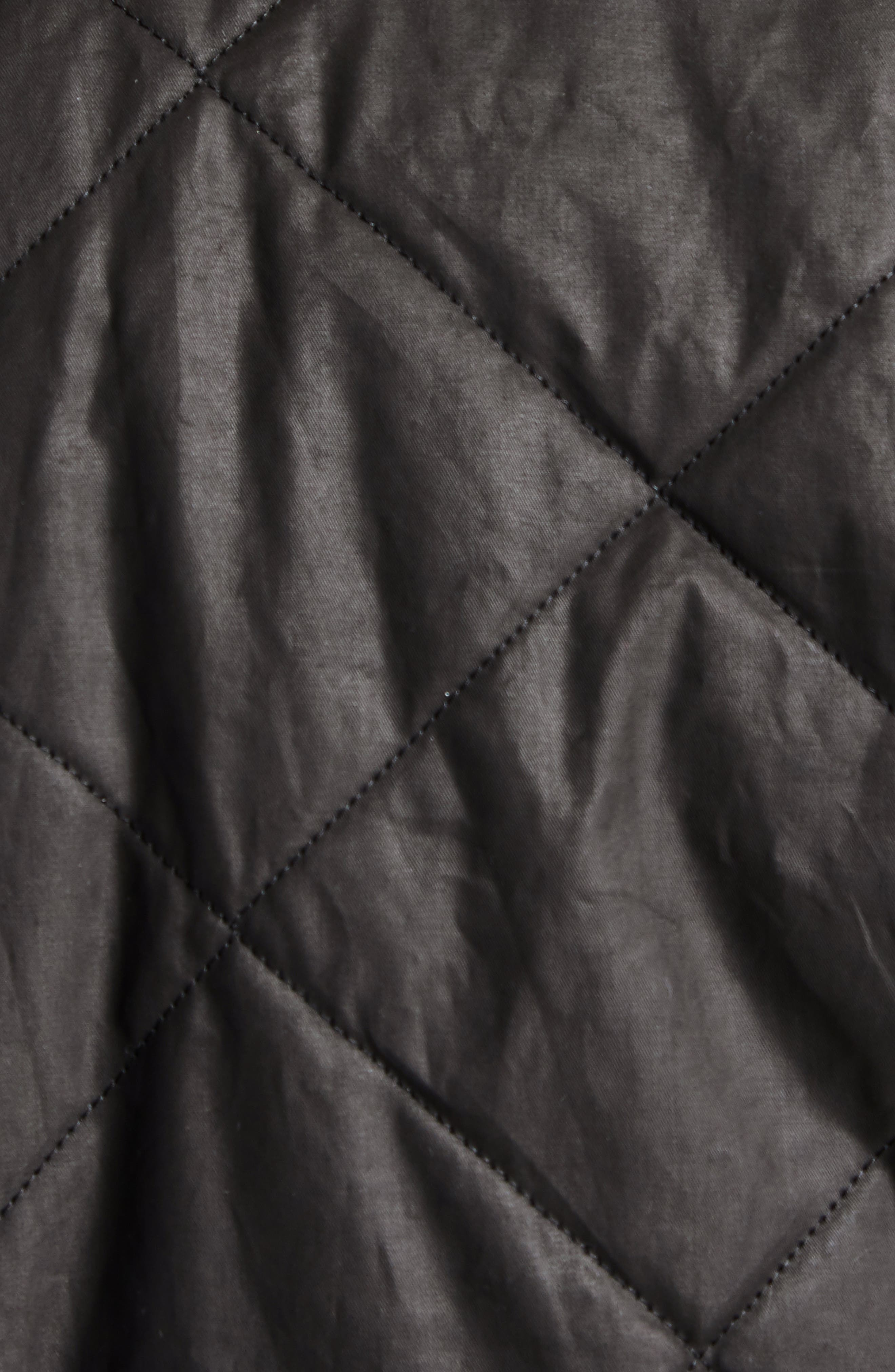 International Sonoran Quilted Shirt Jacket,                             Alternate thumbnail 6, color,                             BROWN