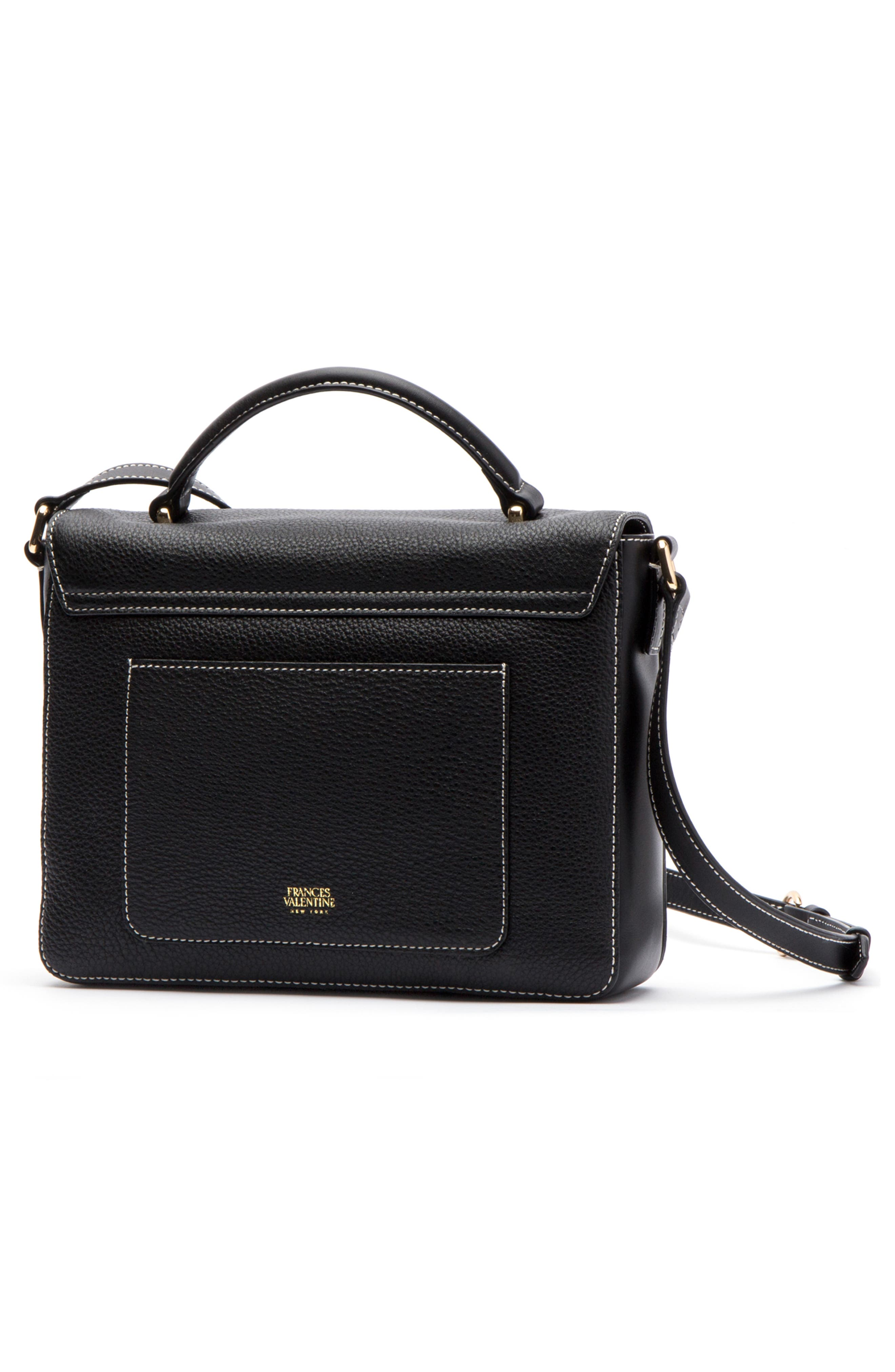 Midge Leather Crossbody Bag,                             Alternate thumbnail 2, color,                             001