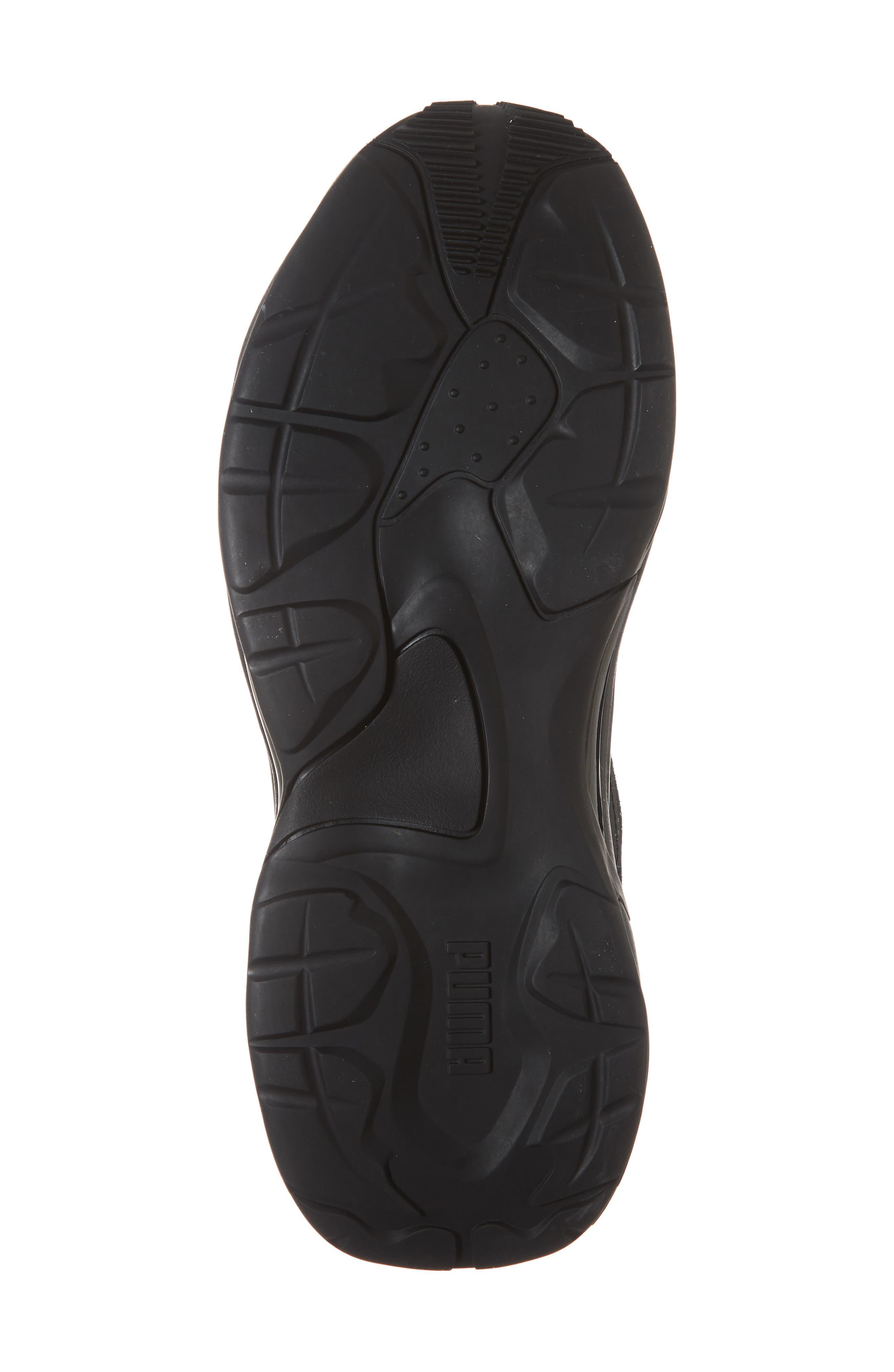 Thunder Desert Sneaker,                             Alternate thumbnail 6, color,                             BLACK/ BLACK