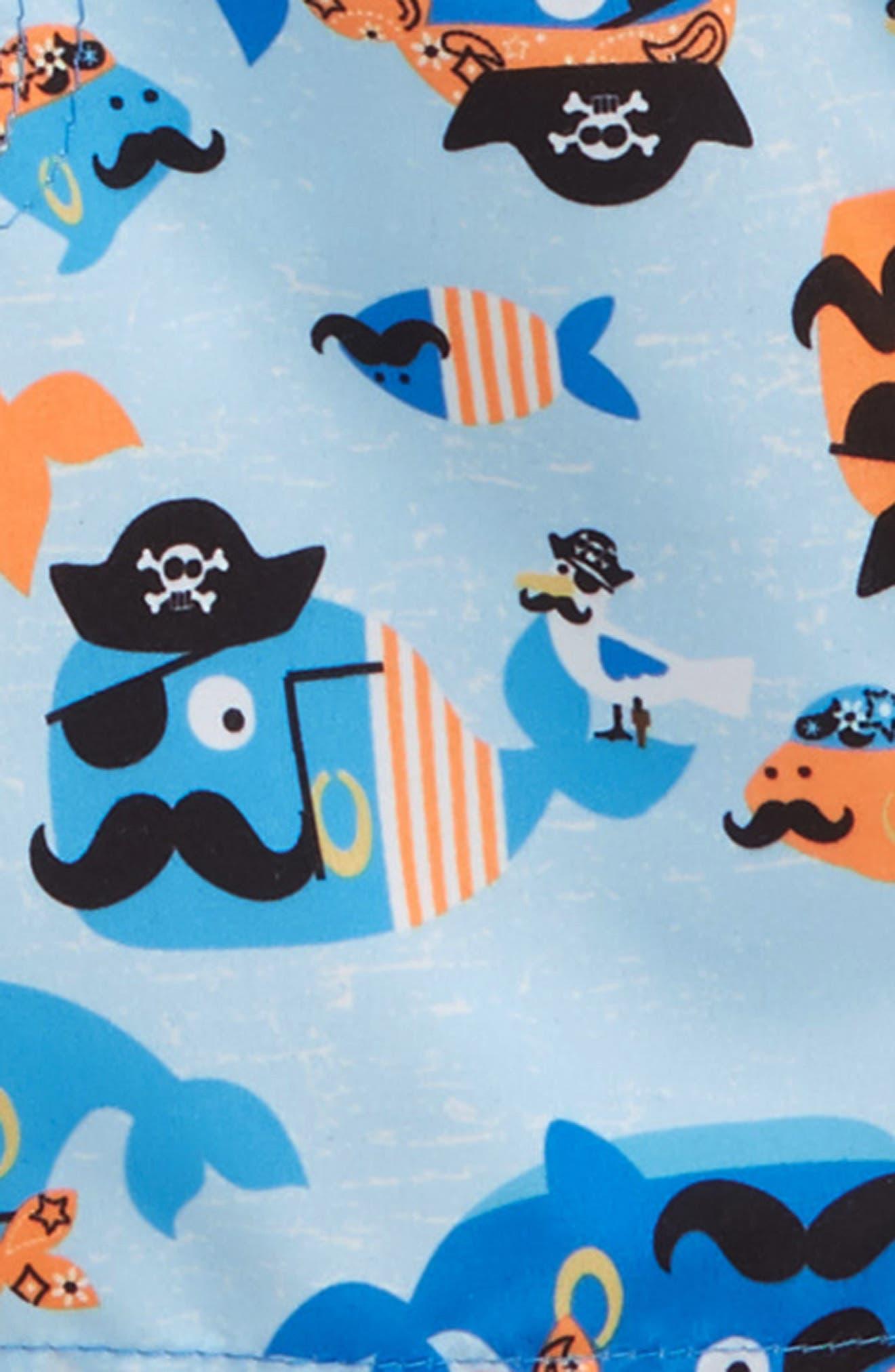 Ahoy Mateys Two-Piece Rashguard Swimsuit,                             Alternate thumbnail 2, color,                             499