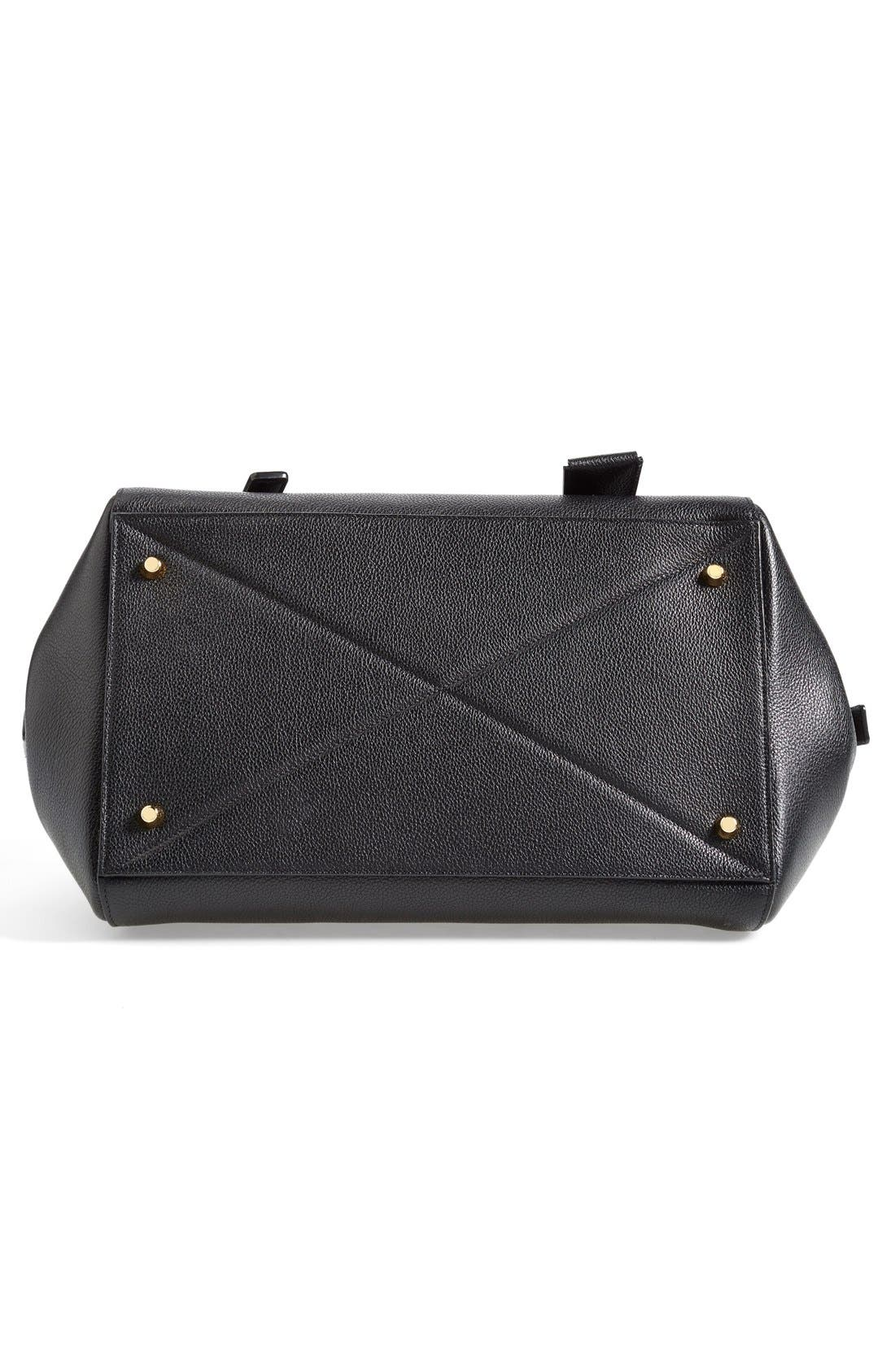 'Small Incognito' Leather Satchel,                             Alternate thumbnail 3, color,                             001