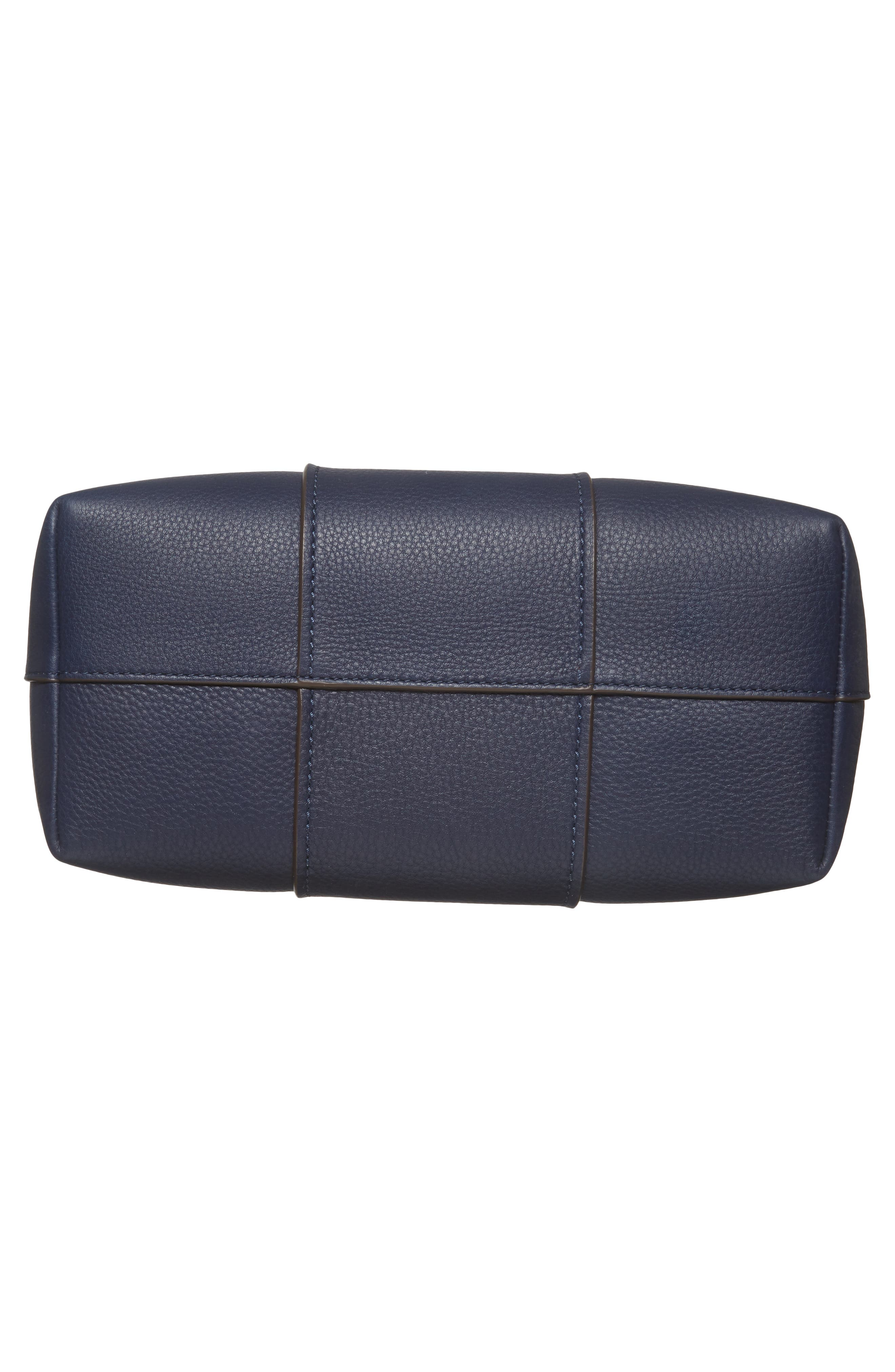 Block-T Pebbled Leather Hobo,                             Alternate thumbnail 6, color,                             400
